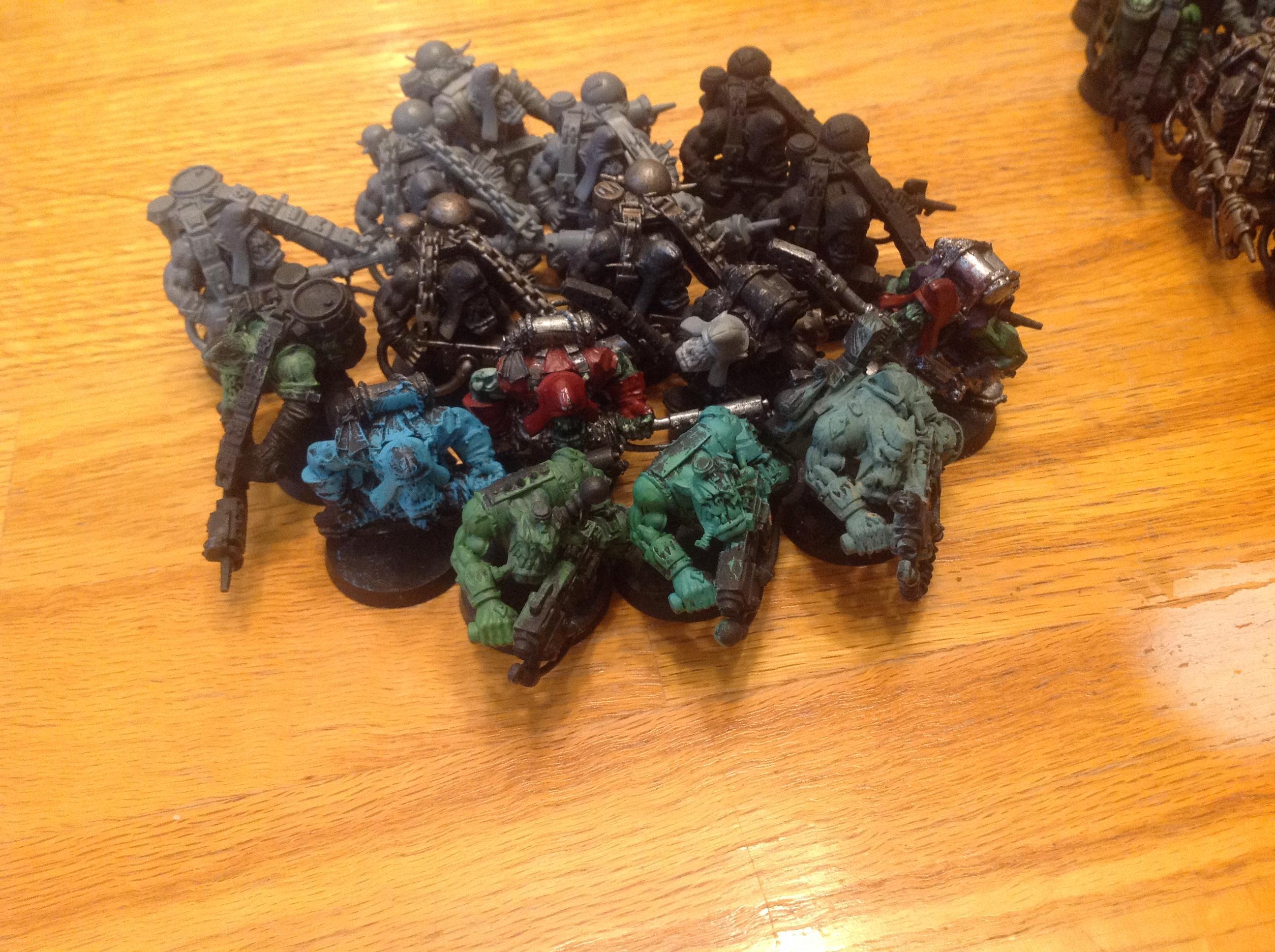 Boys, Burna Boyz, Orks, Waaazag, Warhammer 40,000