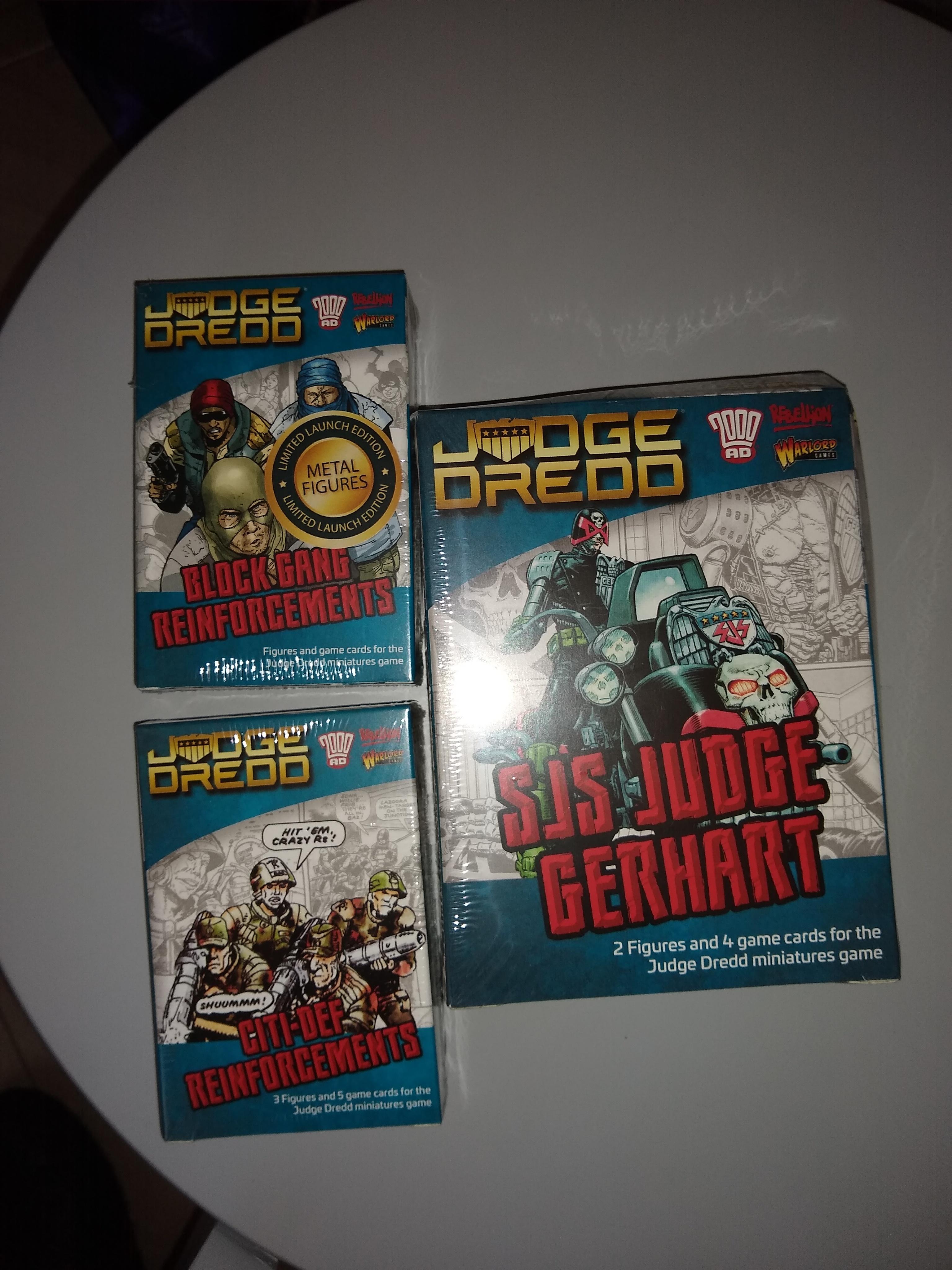 Dredd supplies