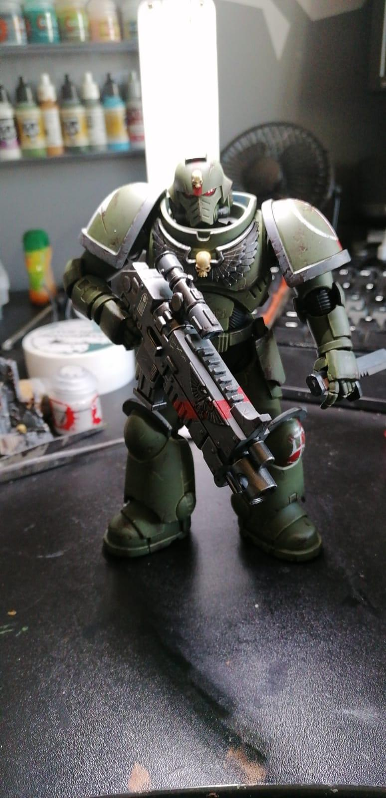 Action Figure, Not Heroic Scale, Repaint, Warhammer 40,000