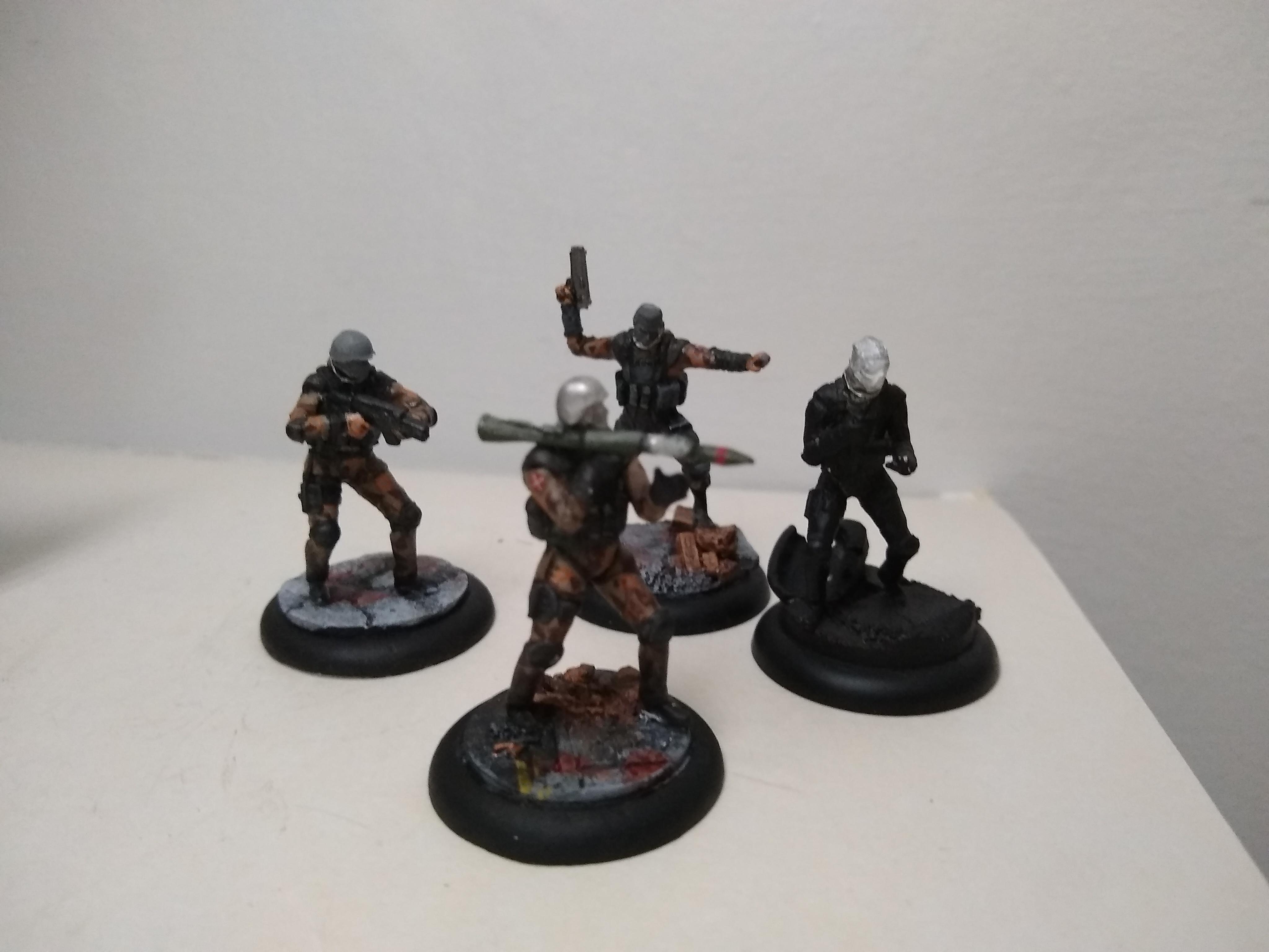 New militia heads