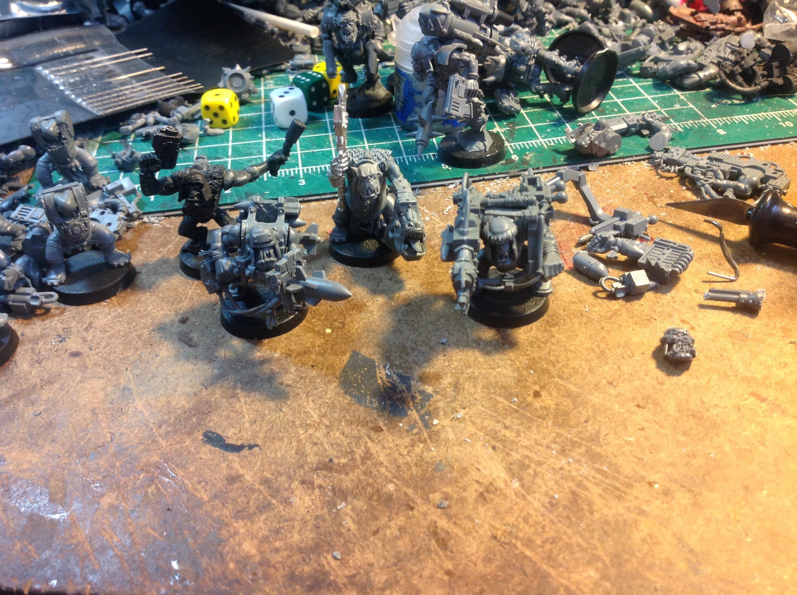 Attack Squig, Boys, Lootas, Orks, Progress, Stikk Bomma, Tankbustas, Waaazag, Warhammer 40,000