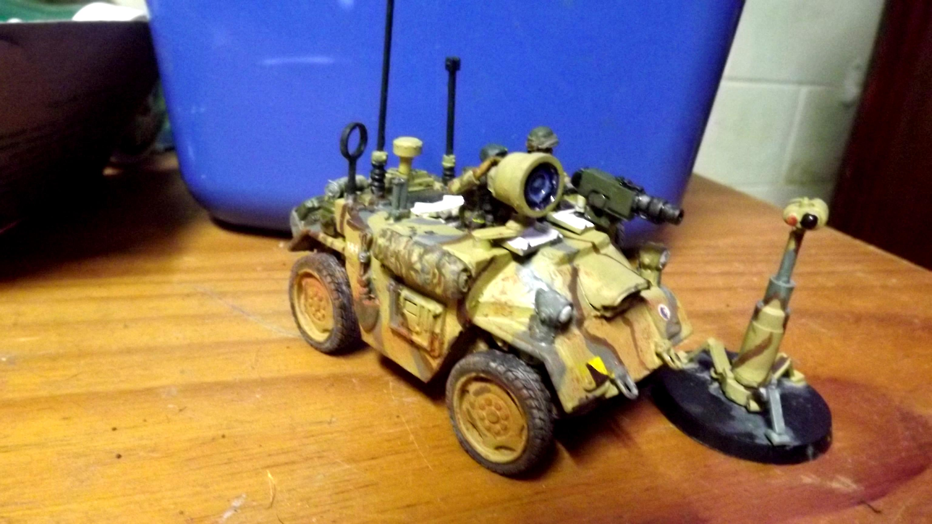 4x4, Armoured Car, Conversion, Degu, Ramshackle Games, Scout Car, Scratch Build, Survellience Car, Victoria Miniatures