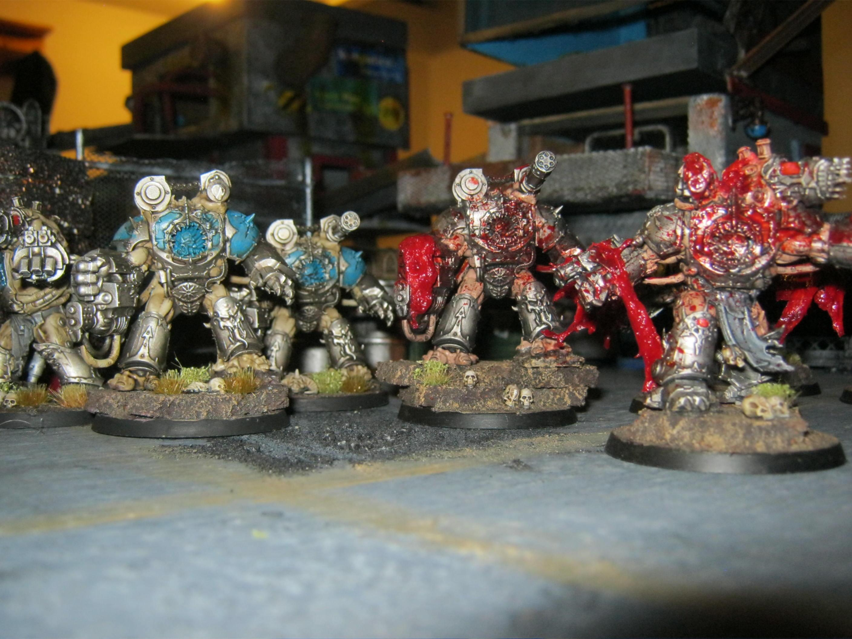Chaos, Obliterators, Space Marines