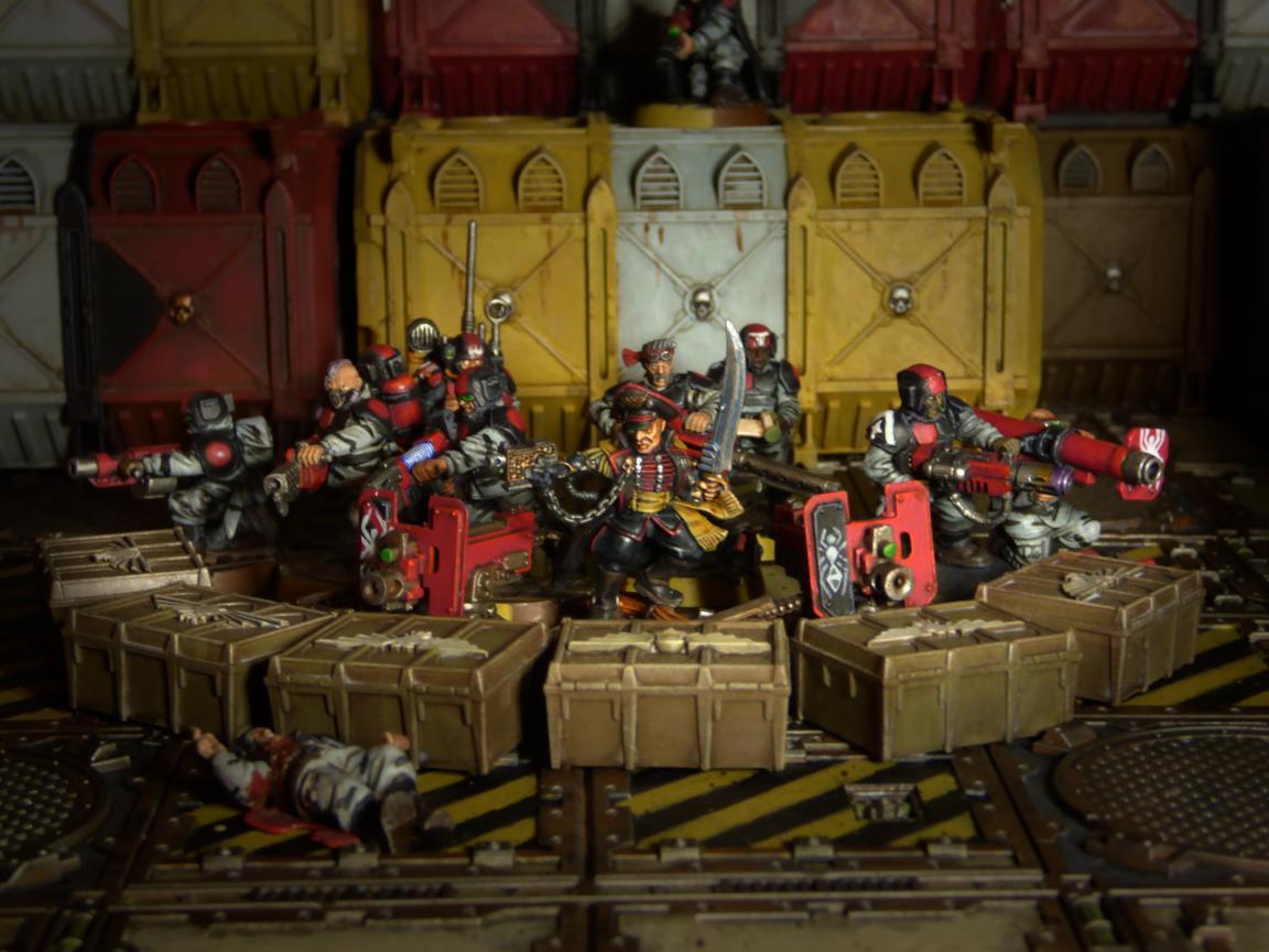Guard, Imperial, Necromundian, Spider