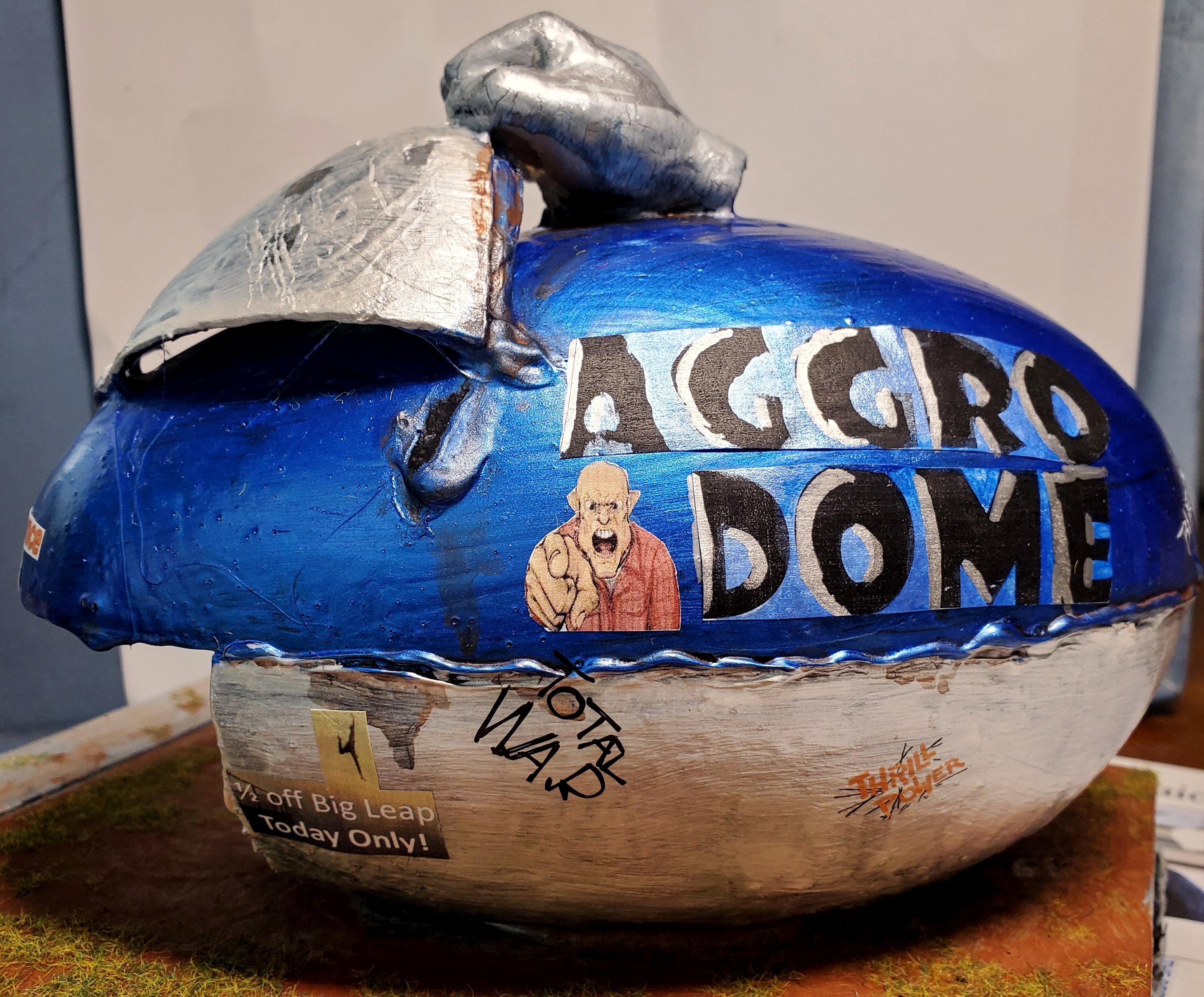 Aggro, Anderson, Dome, Dredd, I Am The Law, Judge
