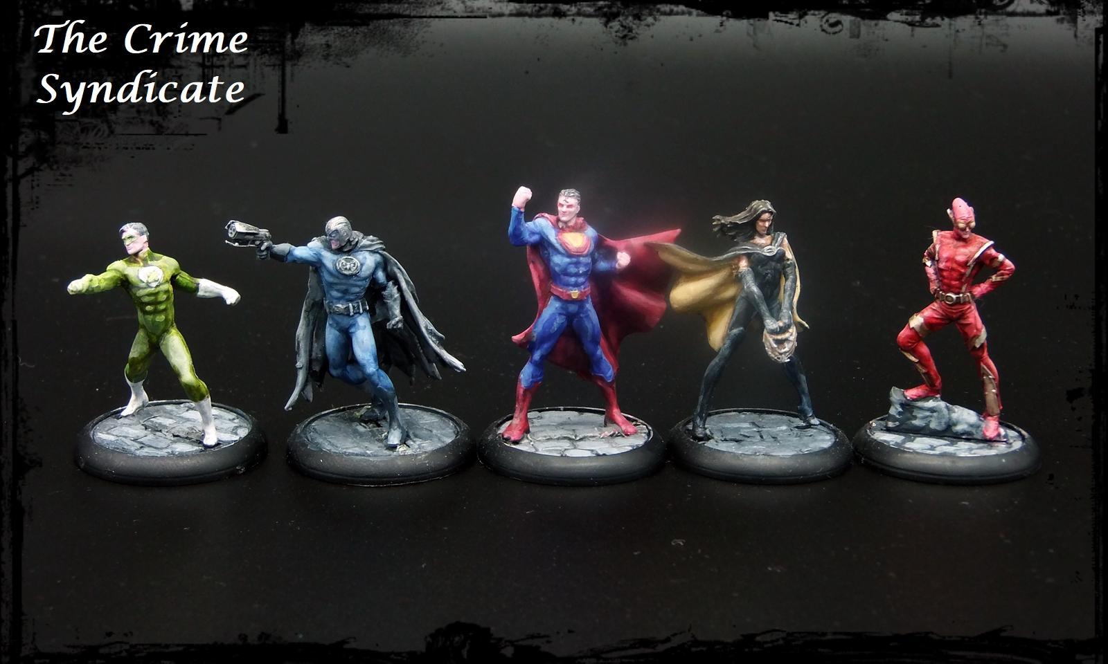 Comic Book, Dc, Hero, Knight Models