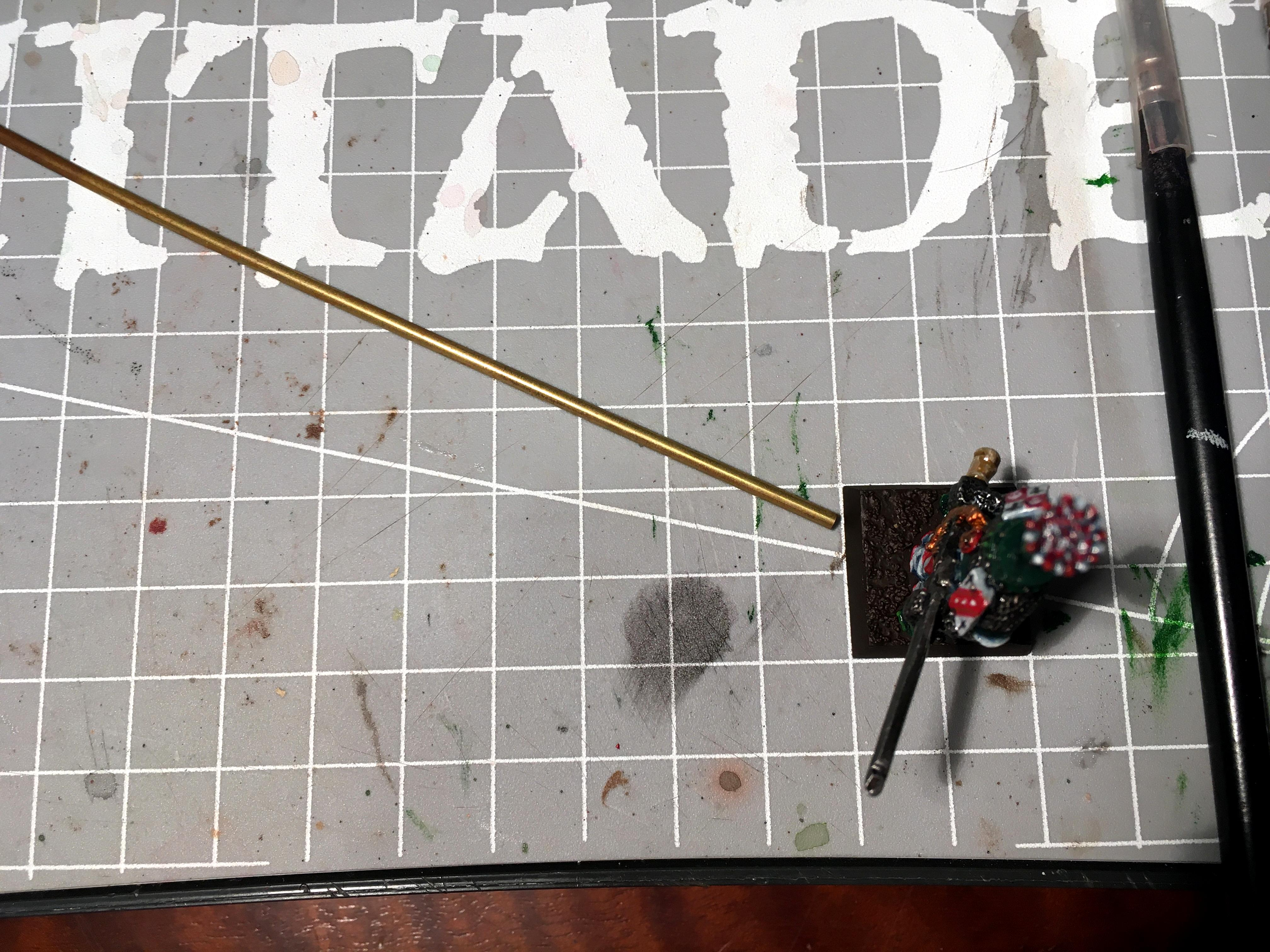 Basing angles, too large