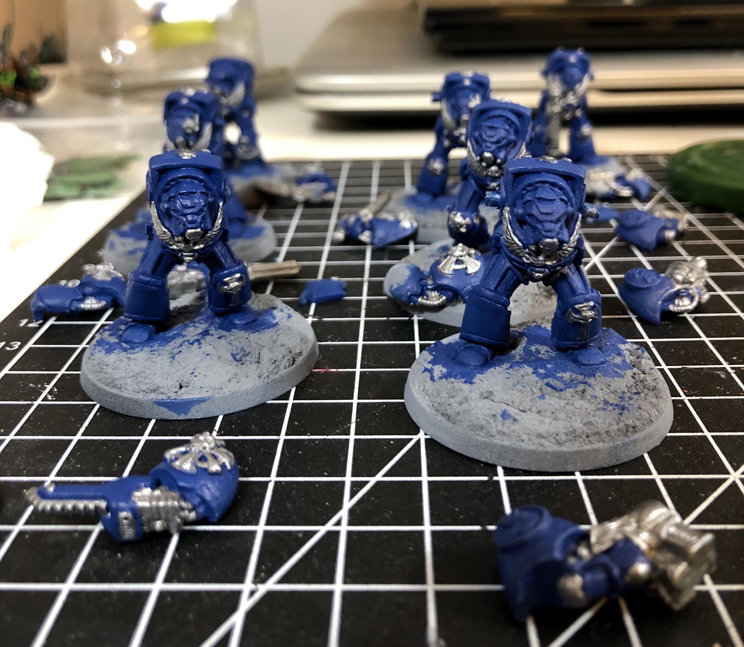 Crimson Fists, Rogue Trader, Rtb9, Space Marines, Terminator Armor, Warhammer 40,000