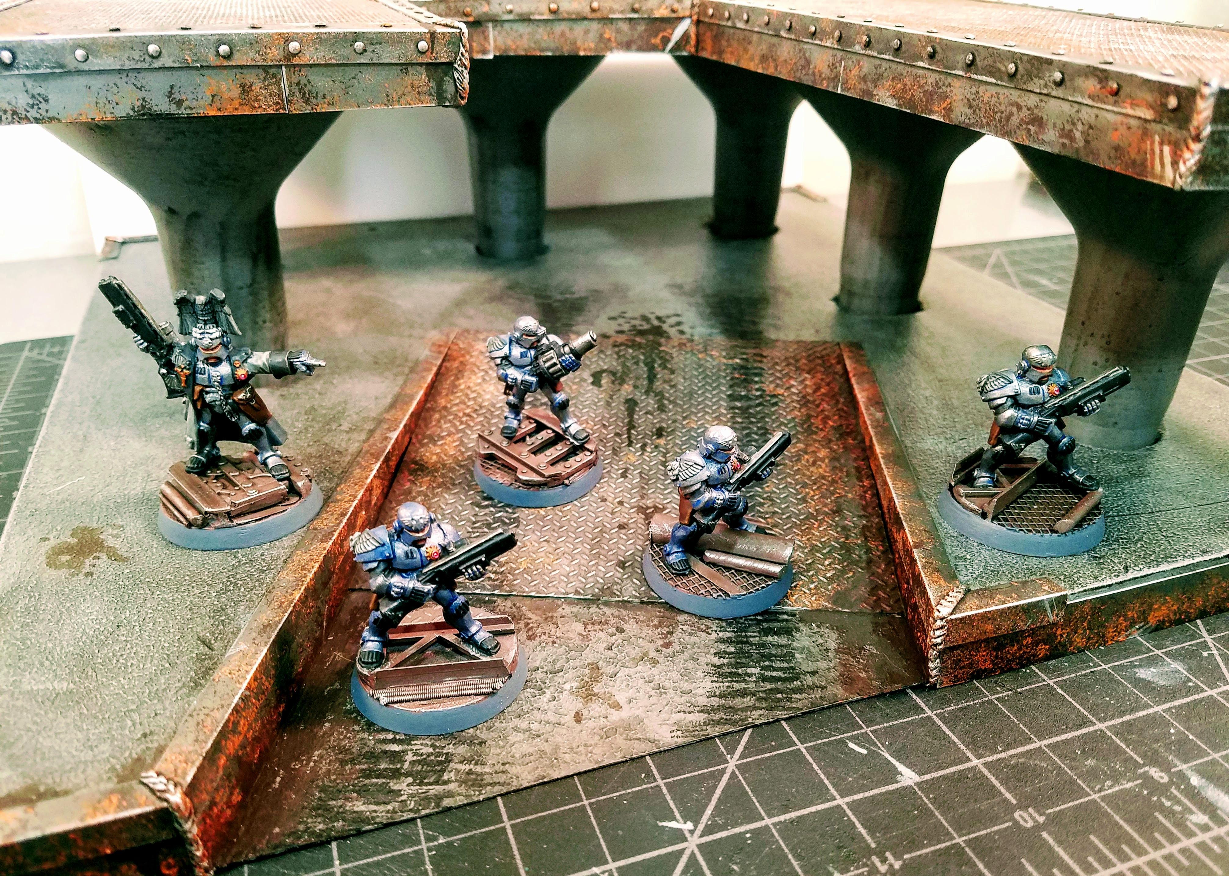 Adeptus Arbites, Enforcers, Terrain, Underhive