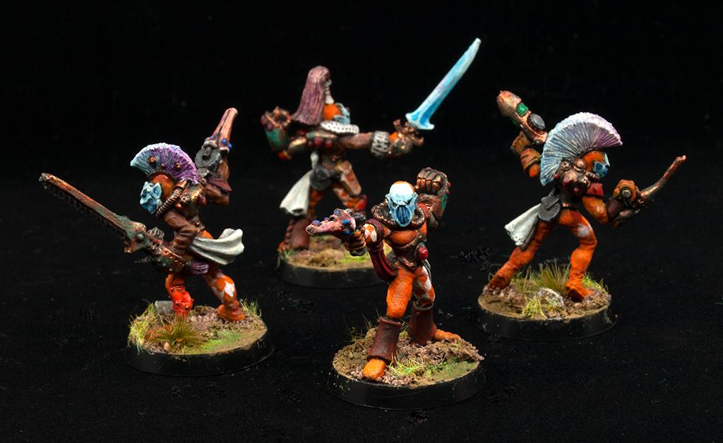 Eldar, Harlequins, Retro