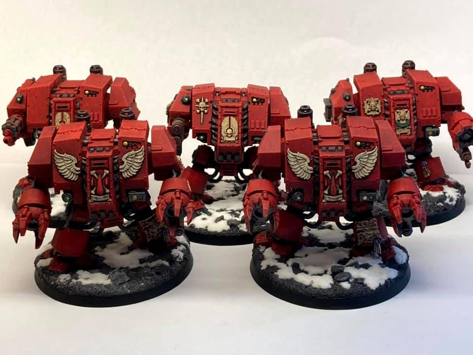 Blood Angels, Dreadnought