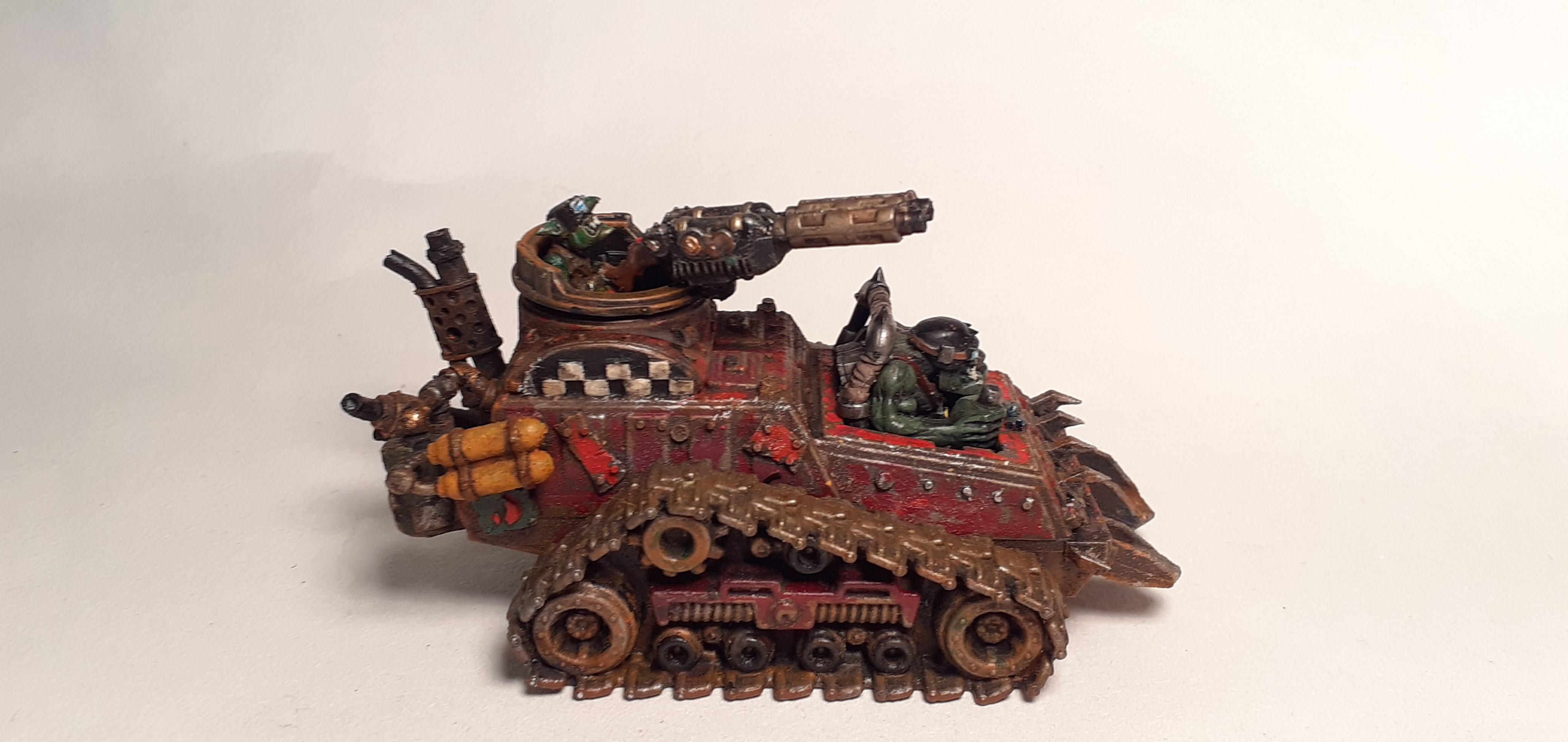 Conversion, Grots, Kitbashed, Ork Conversions, Ork Coustom Made Vehicles, Orks, Scratch Build, Warhammer 40,000, Wartrak