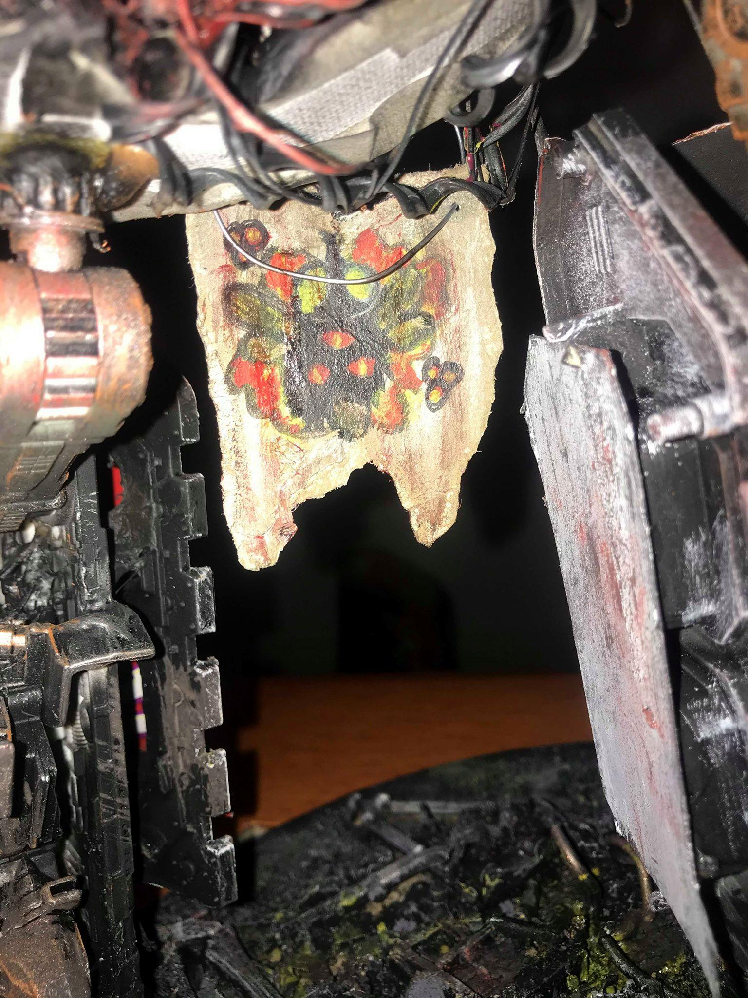 Banner, Chaos, Icon, Nurgle, Reaver, Scratch Build, Titan, Warlord