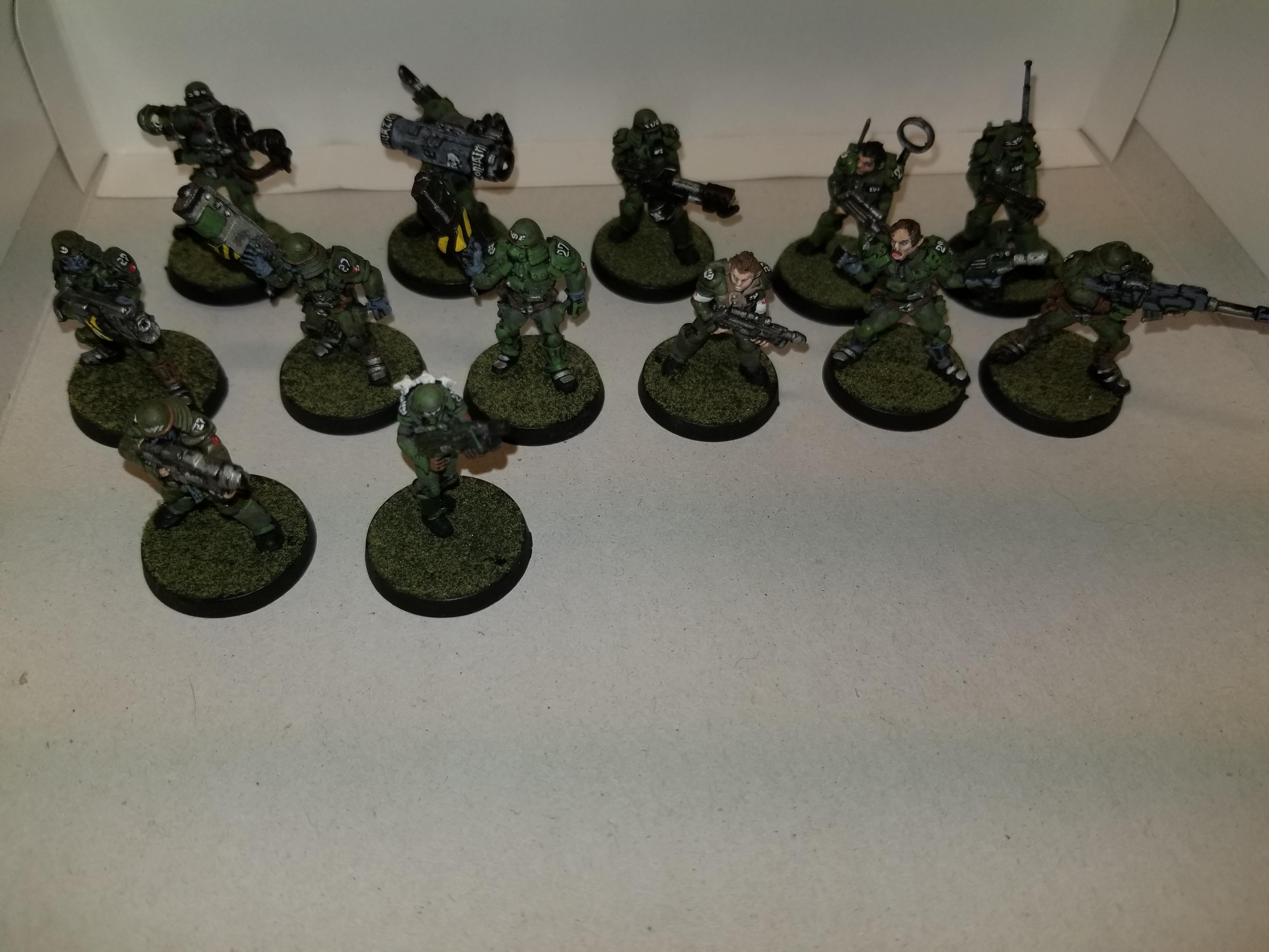 WH40k, Unknown models with conversions to 40k, metal, top