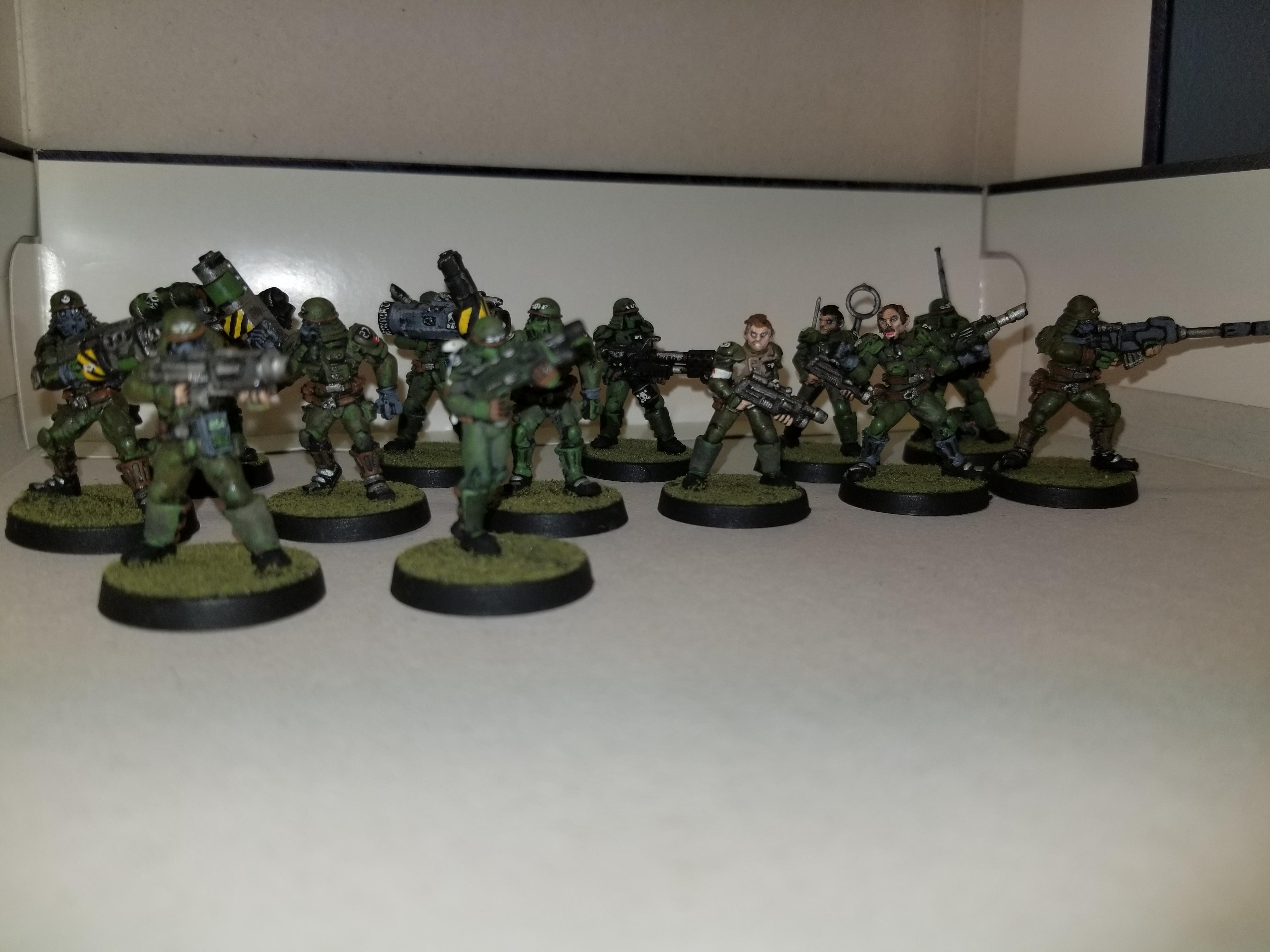 WH40k, Unknown models with conversions to 40k, metal, front