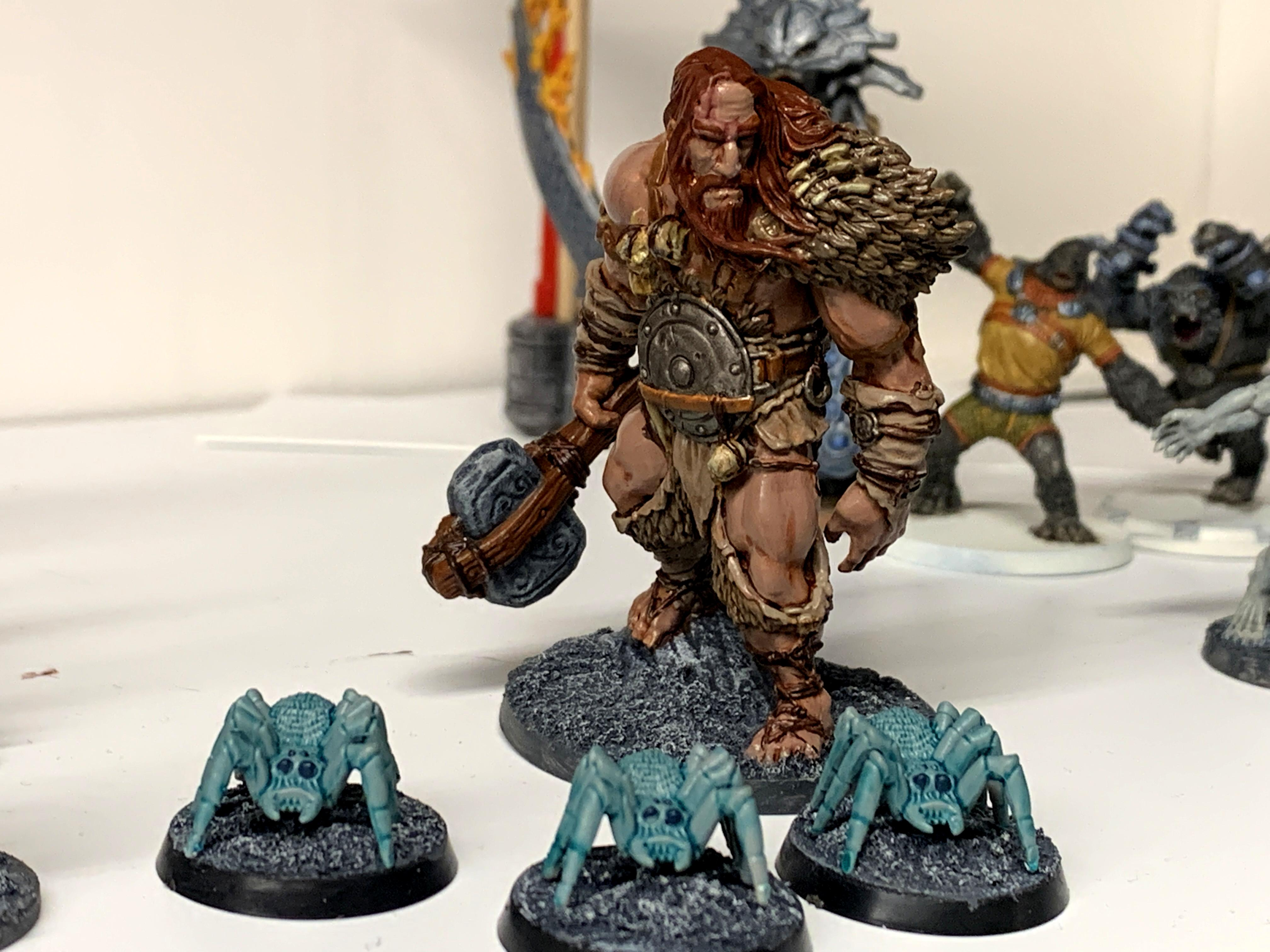 Blood Rage, Cool Mini Or Not, Giant, Spider