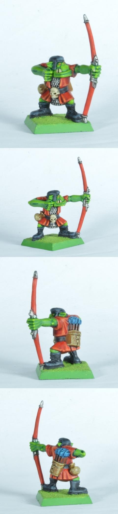 Arrow Boy, Goblin Green Base, Orcs, Retro
