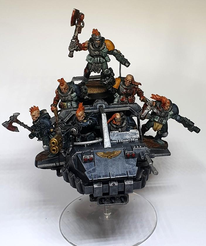 Badab, Executioners, Land Speeder Storm, Scouts