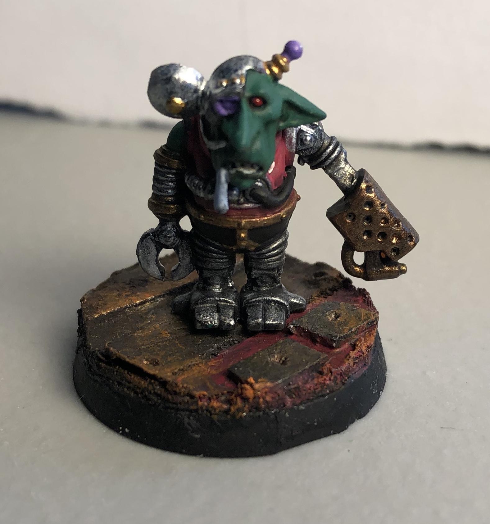Diorama, Goblin Servitor, Imperial Guard, Inquisition, Kitbash, Warhammer 40,000