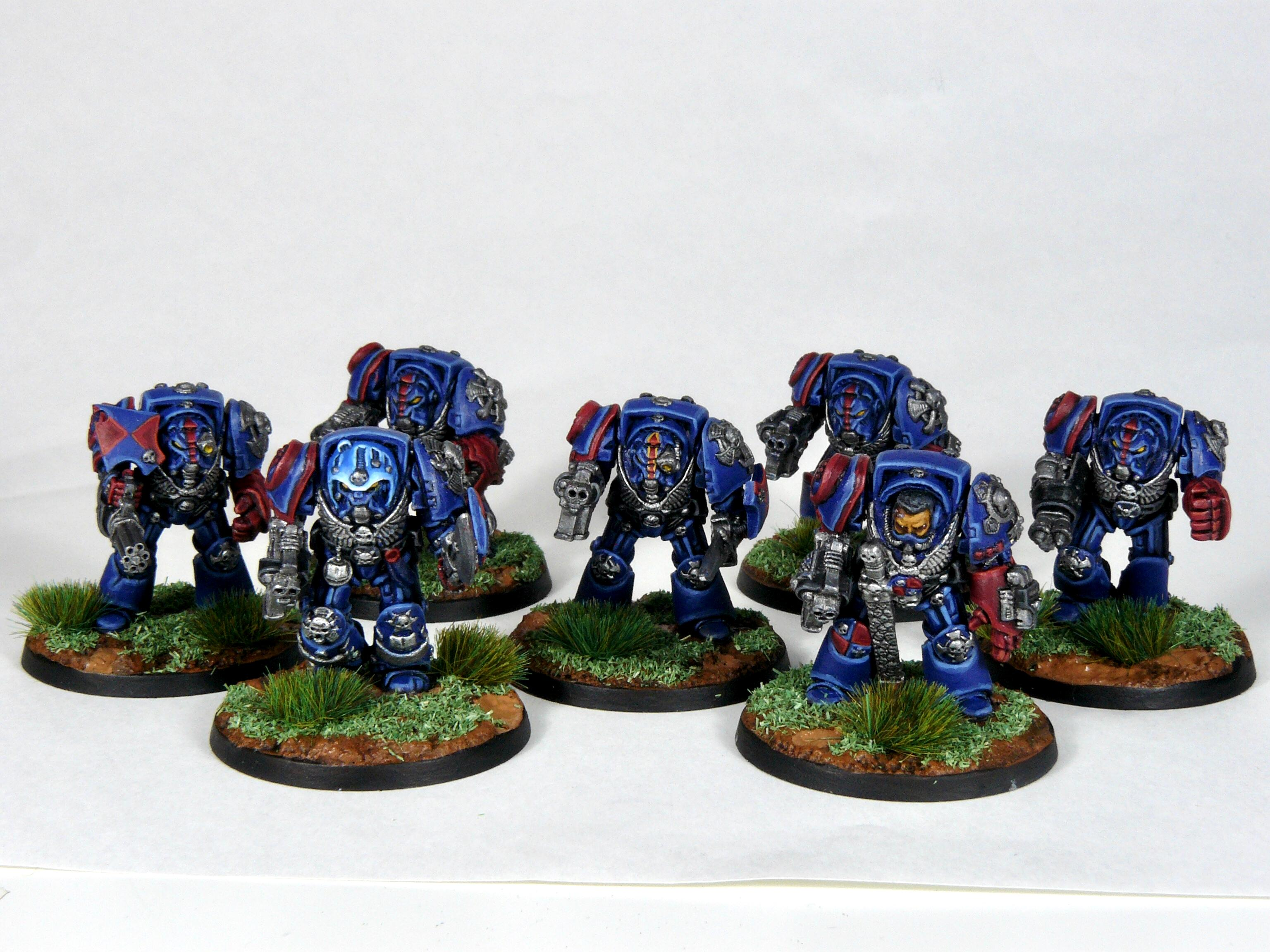 Captain, Librarian, Rogue Trader, Rtb9, Space Marines, Terminator Armor, Warhammer 40,000