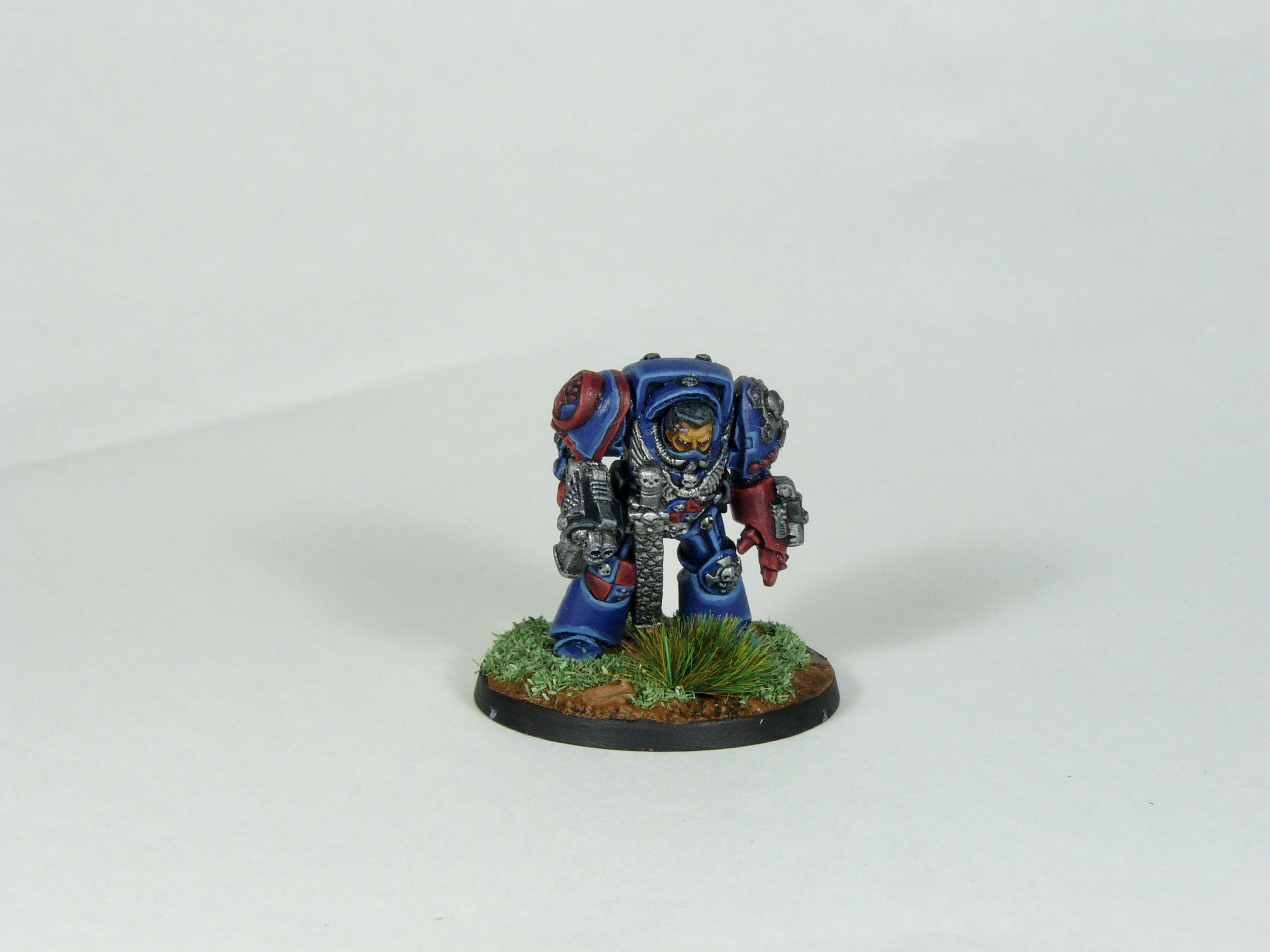 Captain, Rogue Trader, Rtb9, Space Marines, Terminator Armor, Warhammer 40,000
