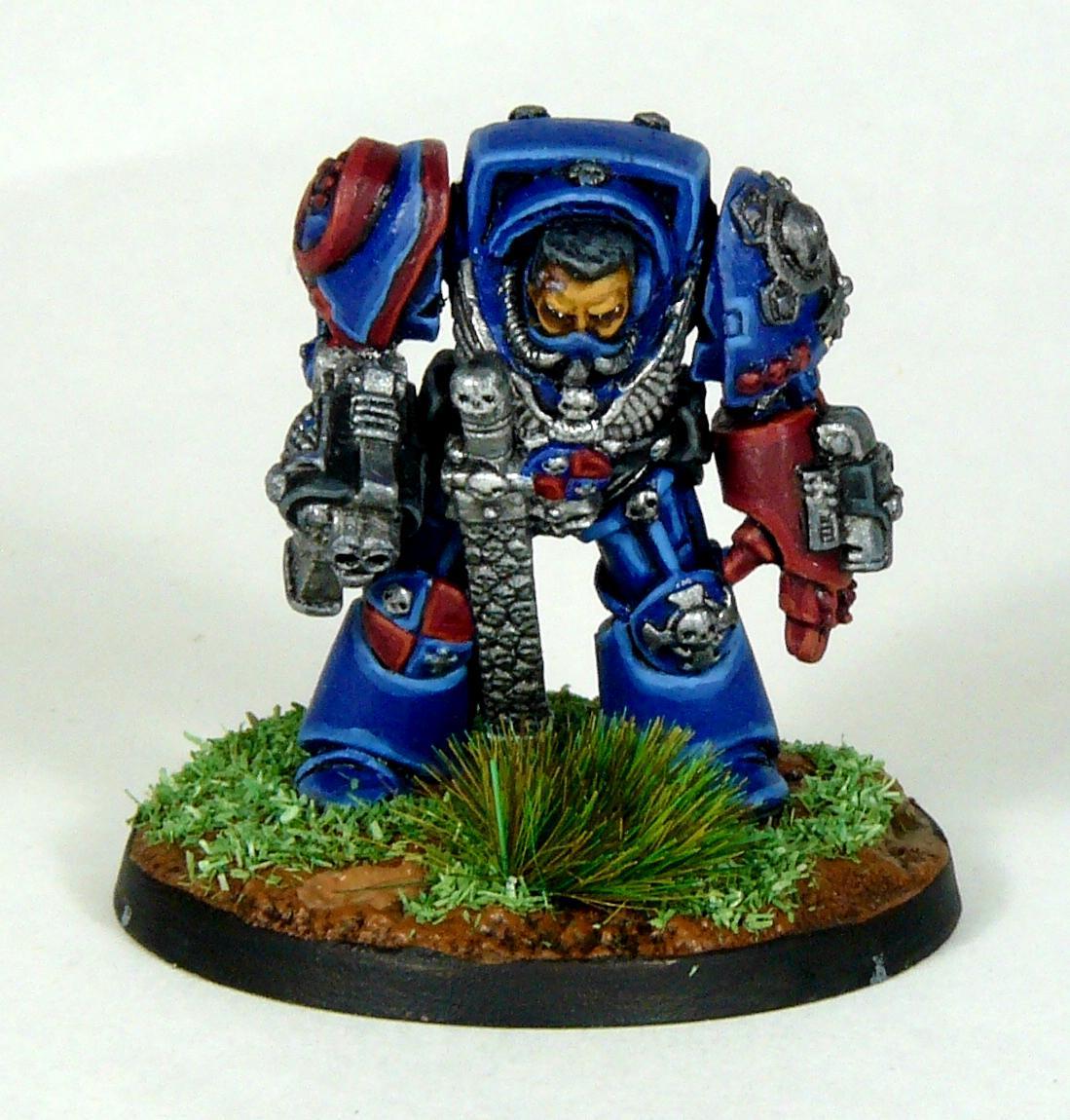 Captain, Crimson Fists, Rogue Trader, Rtb9, Space Marines, Terminator Armor, Warhammer 40,000