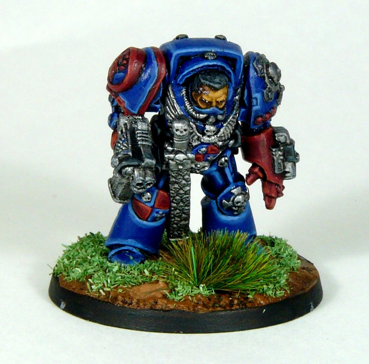 Captain, Crimson Fists, Rogue Trader, Rtb9, Space Marines, Terminator Armor, Warhammer 40,000