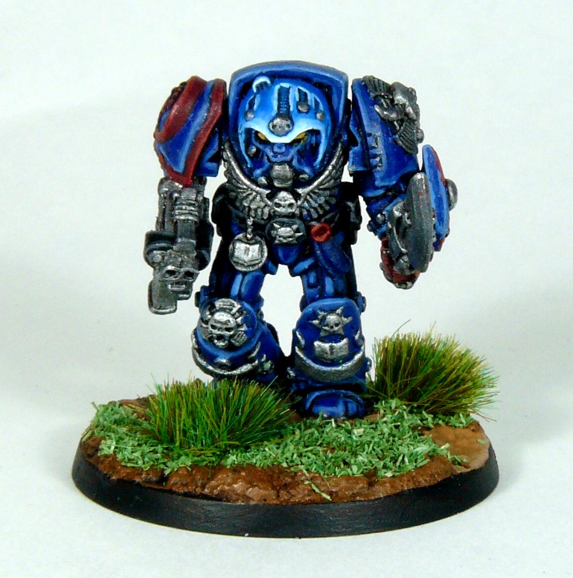 Crimson Fists, Librarian, Rogue Trader, Rtb9, Space Marines, Terminator Armor, Warhammer 40,000