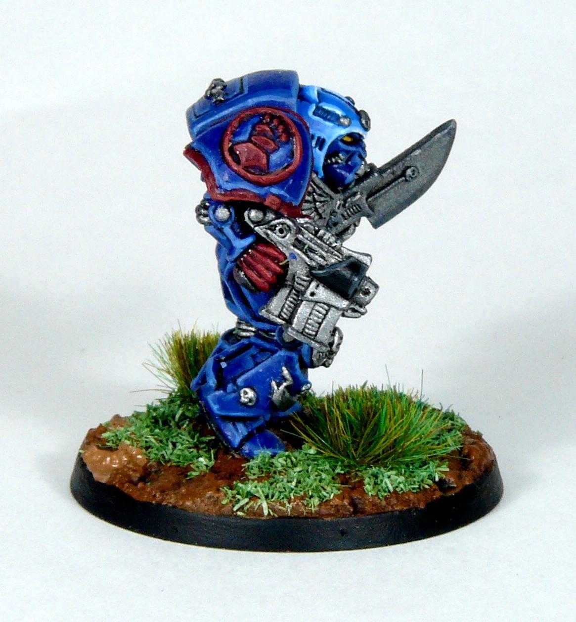 Crimson Fists, Librarian, Rogue Trader, Rtb9, Space Marines, Terminator Armor, Warhammer 40,000