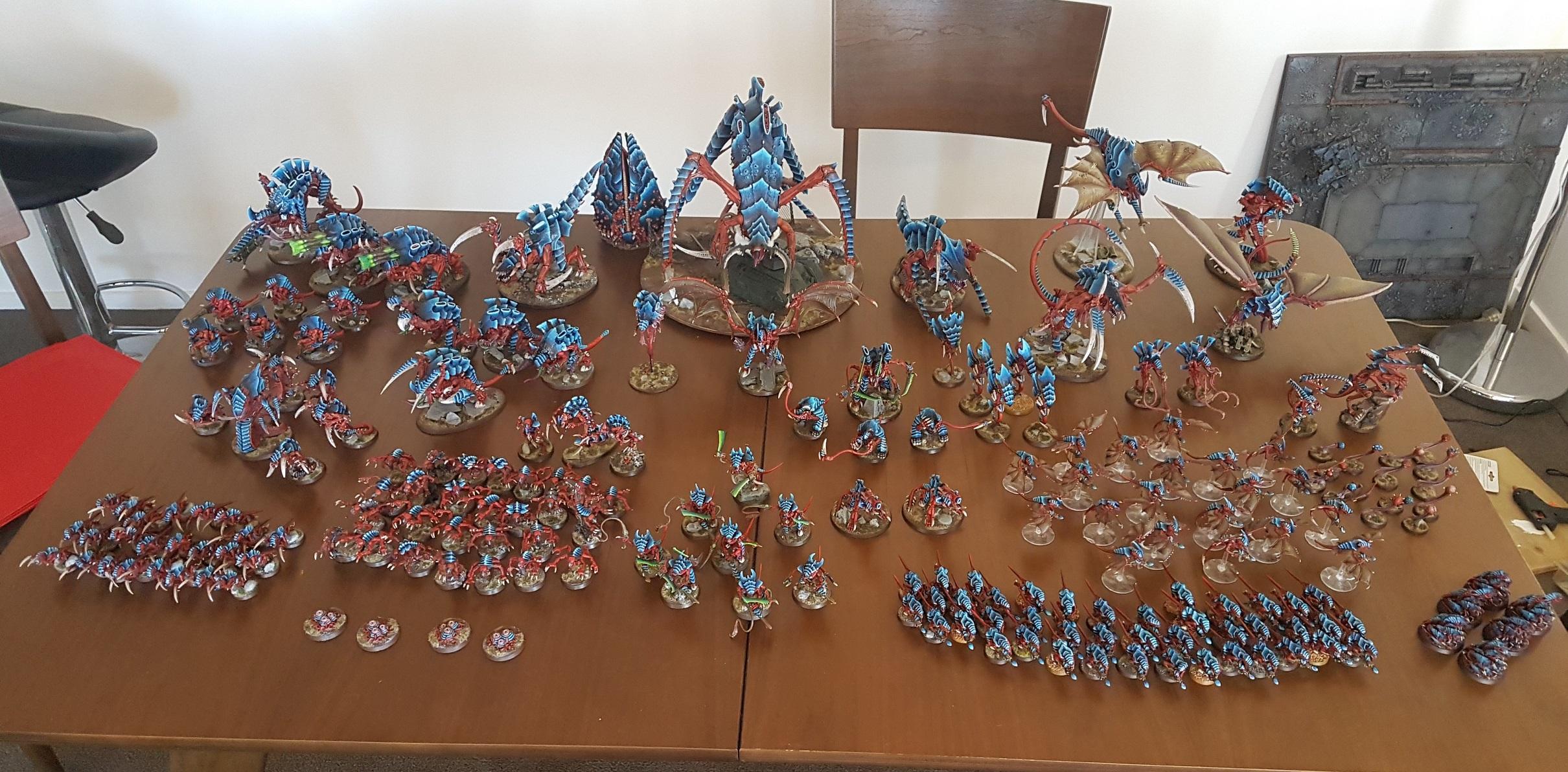 Army, Behemoth, Tyranids