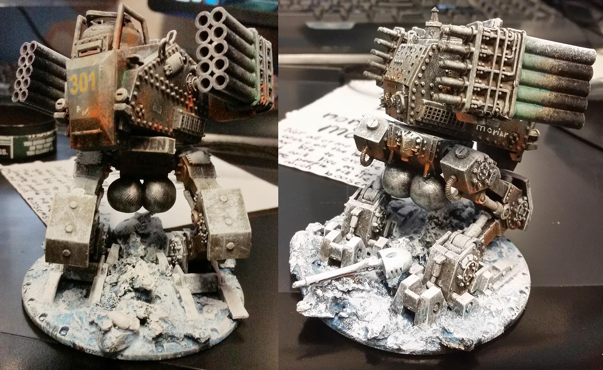 Dust, Rocket Launcher, Walker