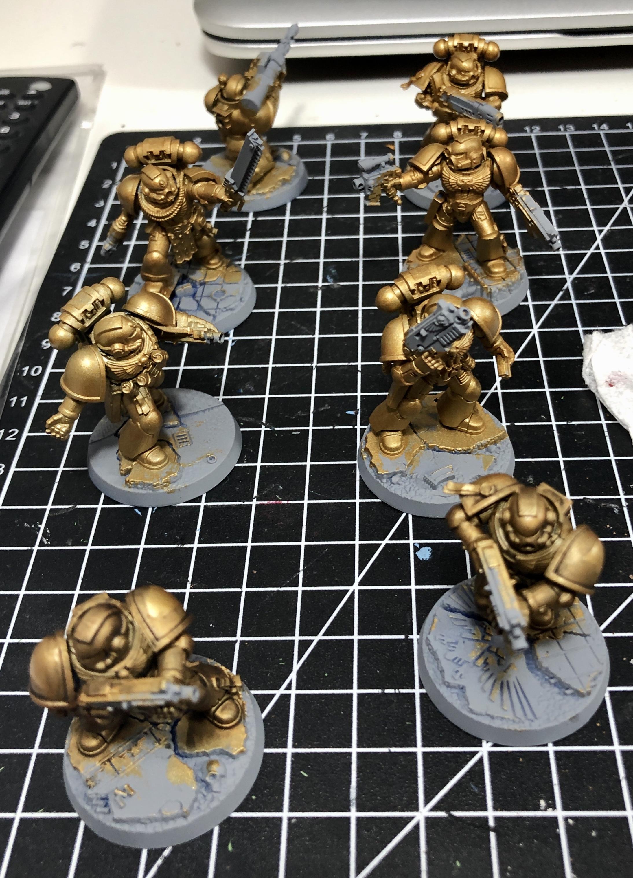 Space Marine Heroes, Space Marines, Warhammer 40,000