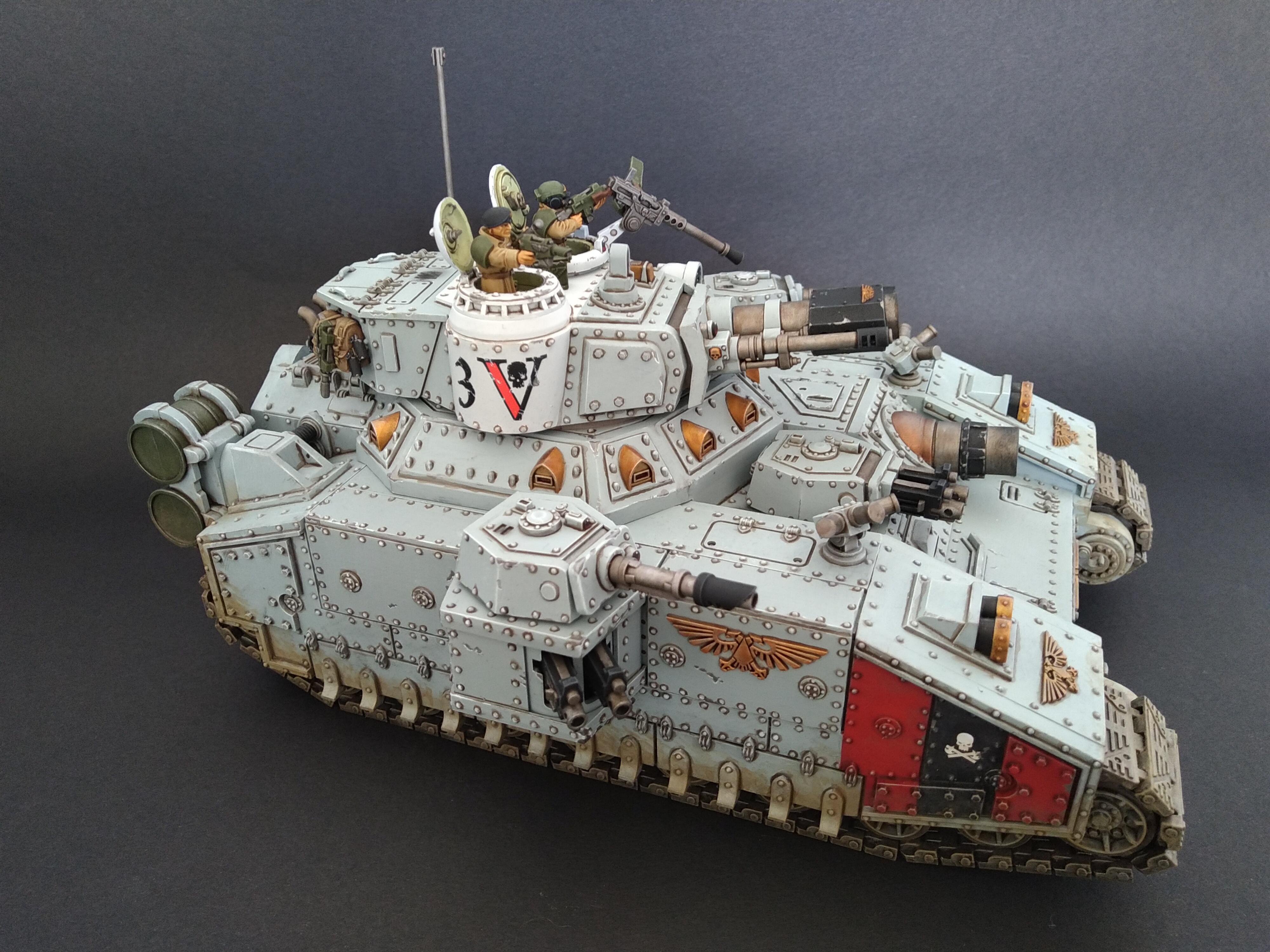 Am, Astra Militarum, Baneblade, Grey, Hellhammer, Magnetised, Tank, Warhammer 40,000