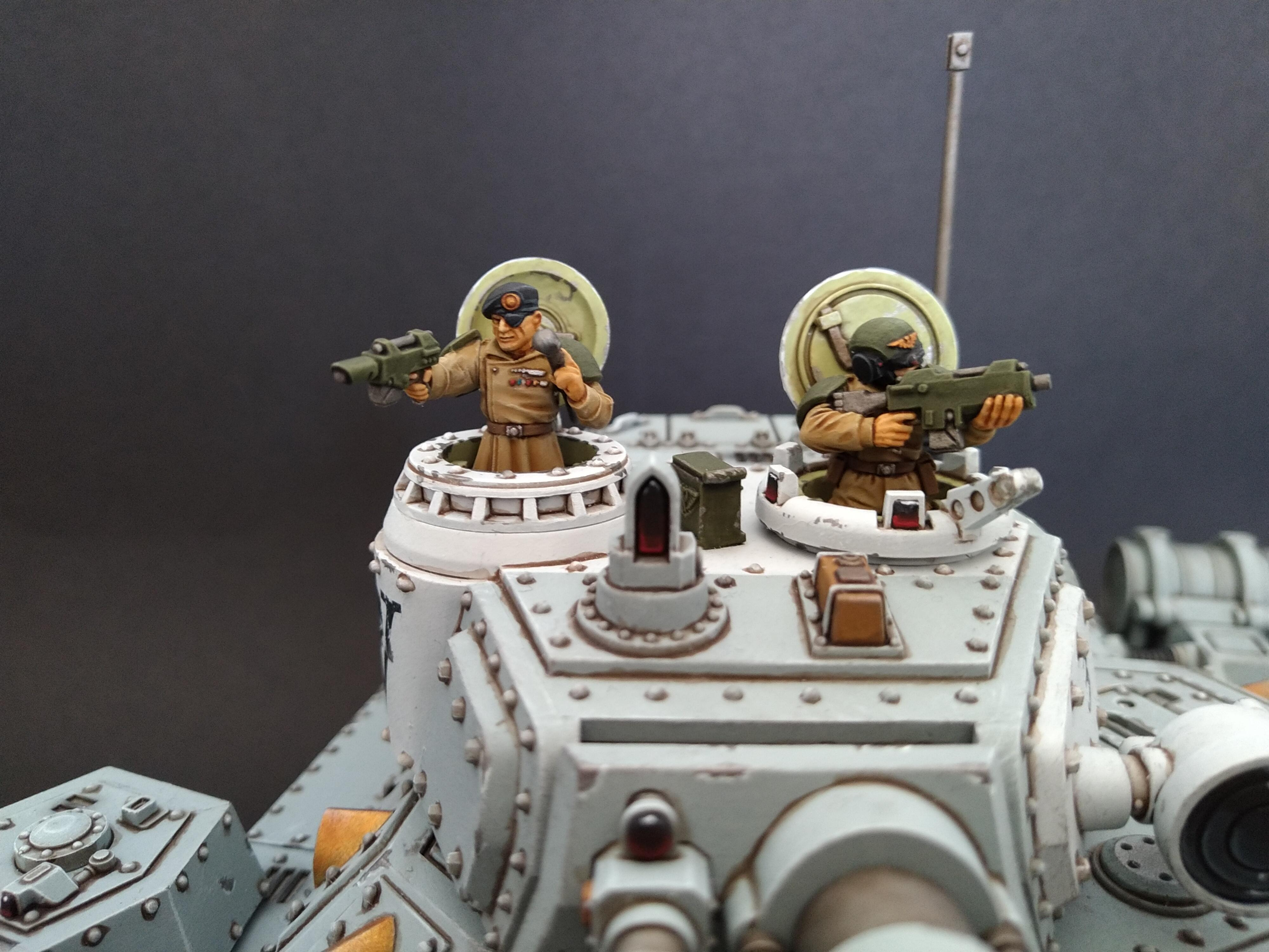 Am, Astra Militarum, Baneblade, Front, Grey, Hellhammer, Magnetised, Tank, Turret, Warhammer 40,000