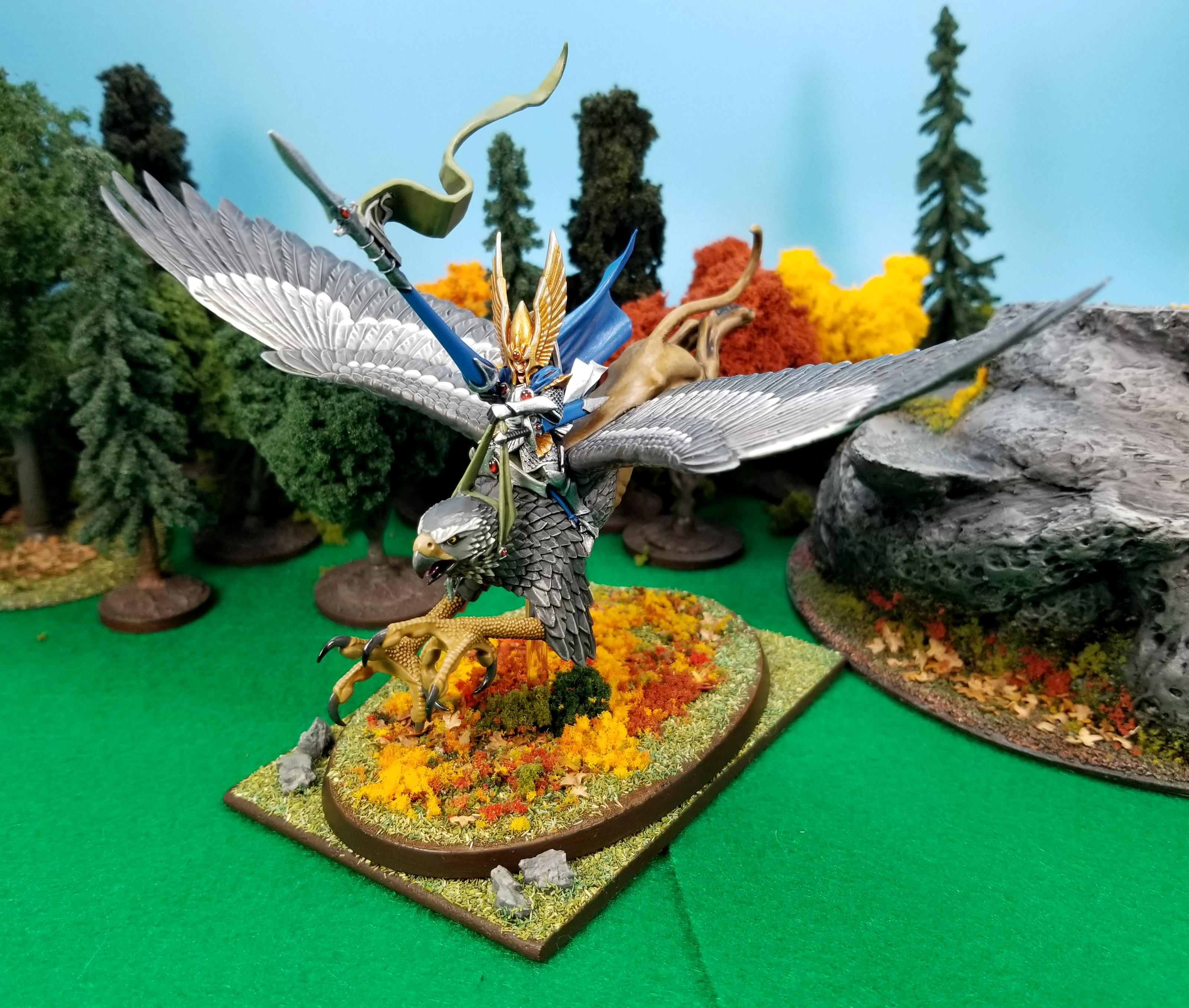Griffin, Griffon, Gryphon, High Elves, Lord