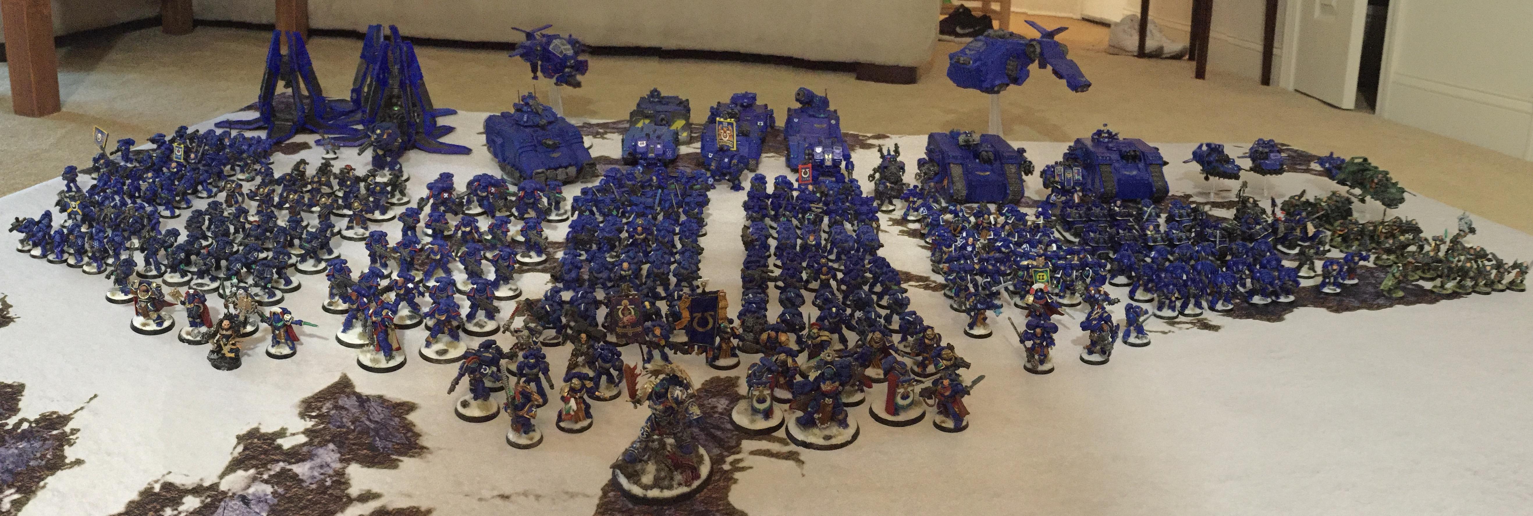 Army, Ultramarines, Warhammer 40,000