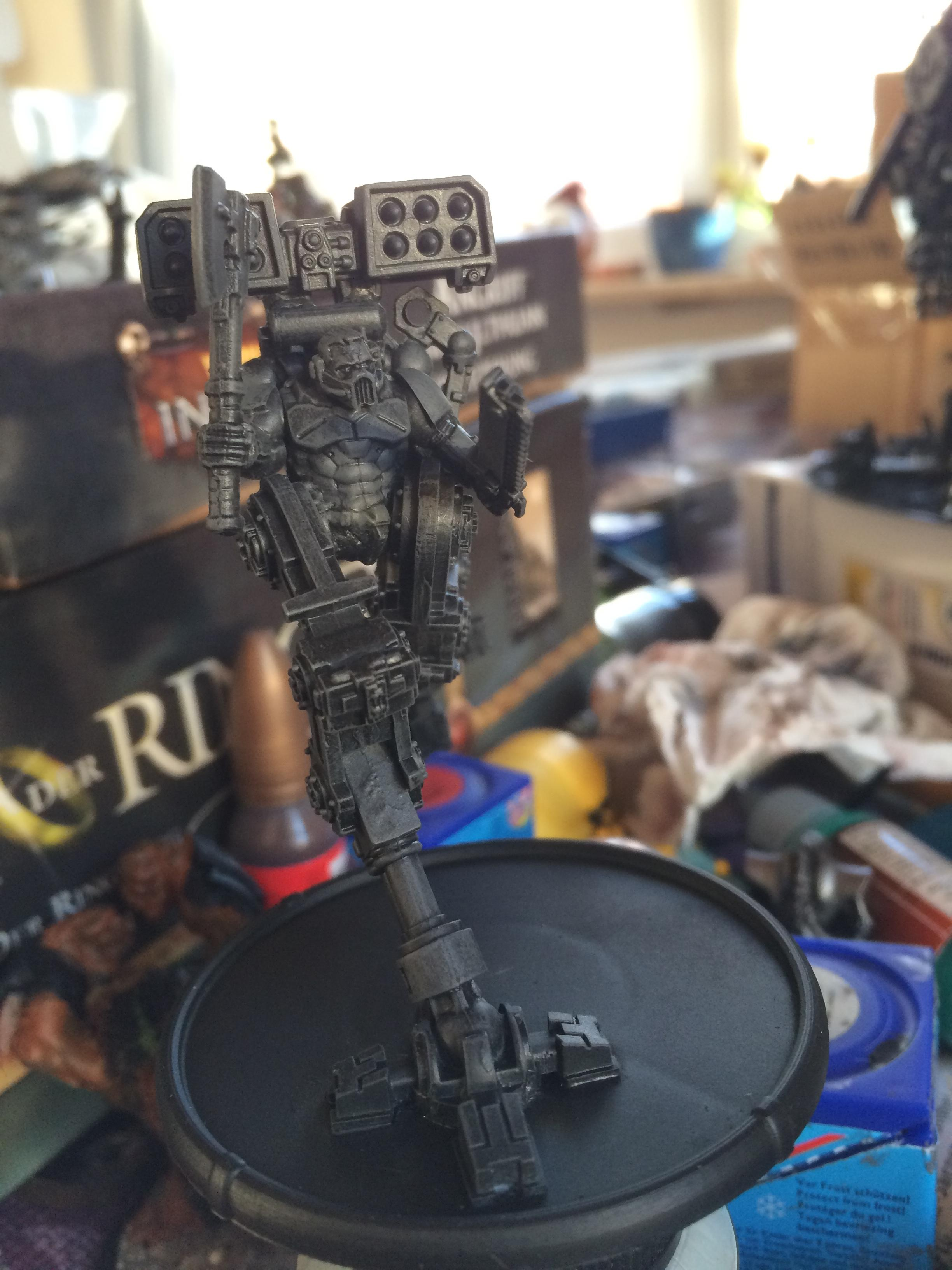 Conversion, Crazy, Dreadnought, Hands, Ih, Iron, Mad, Parts, Sarkophagus, Scratch, Space, Space Marines