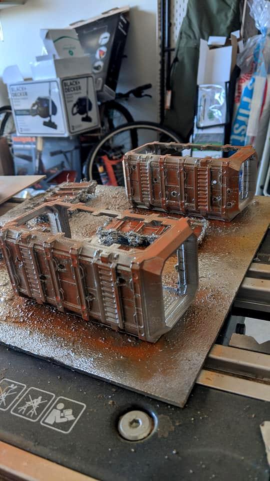 Container, Grimdark, Slum, Warhammer 40,000