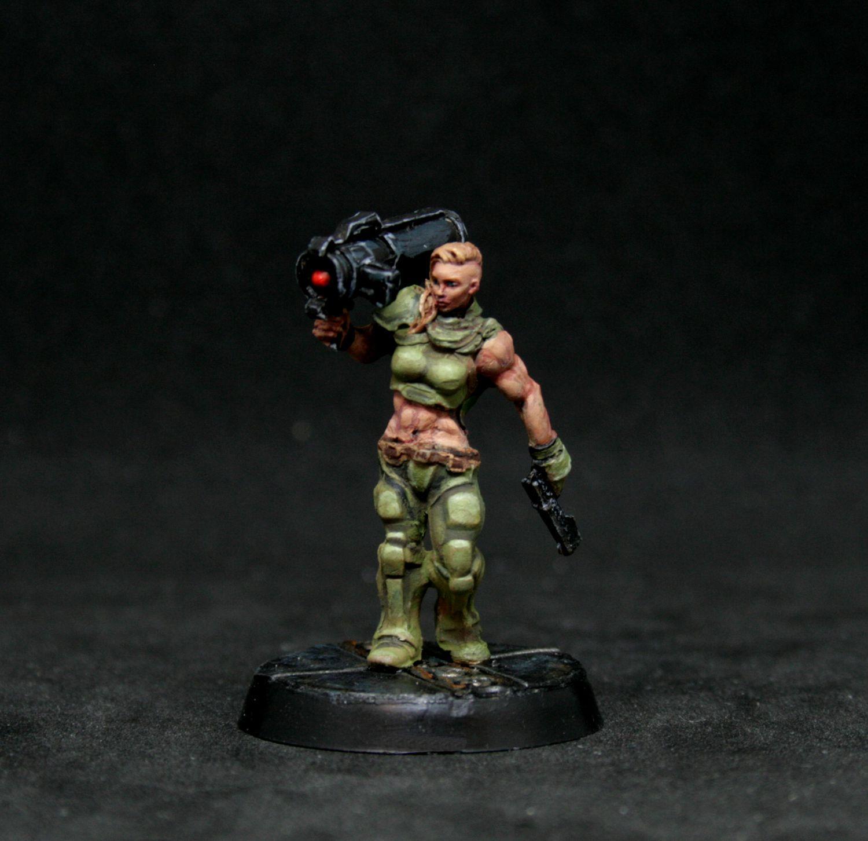 Alienhunter, Catachan, Conversion, Junglefighter