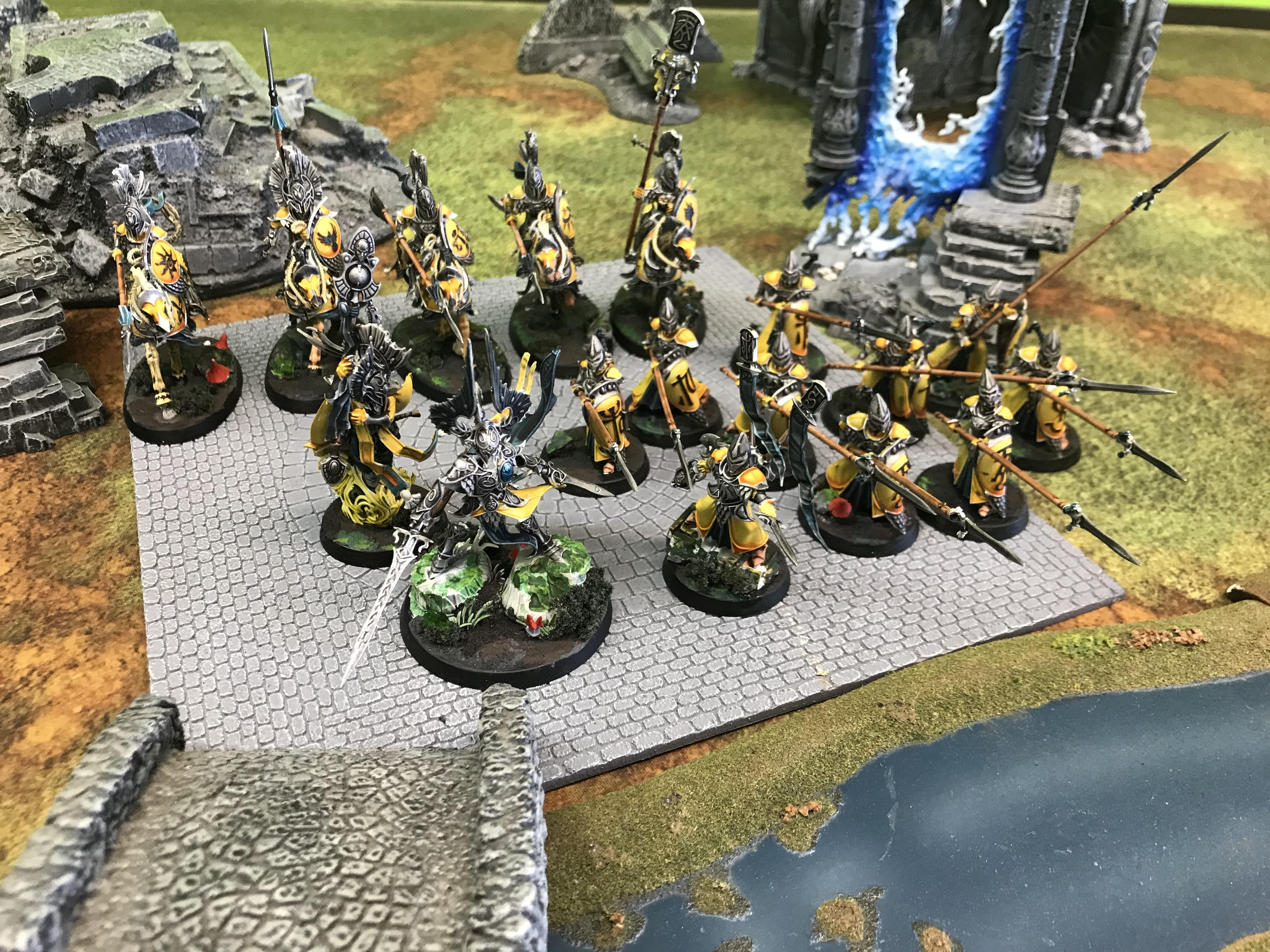 Aelf, Age Of Sigmar, Elves, Hysh, Lords, Lumineth, Realm, Realmlords, Yellow