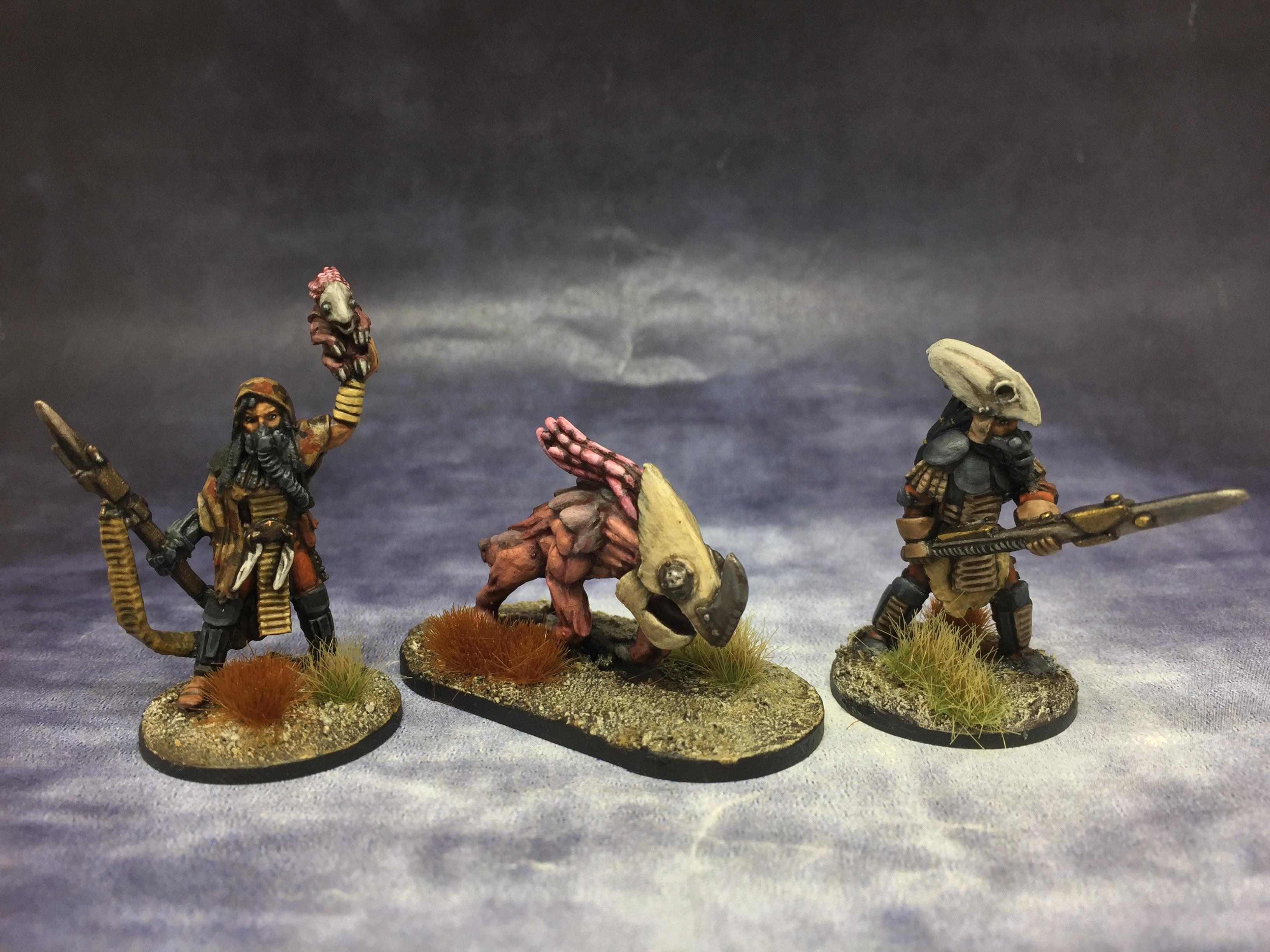 Bad Squiddo, Beast, Ghosts Of Gaia, Handler, June 2020, Postapoc, Postapocalyptic, Wrenchmouth