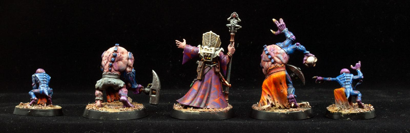 Aberrants, Familiars, Genestealer Cults, Magus, Overkill