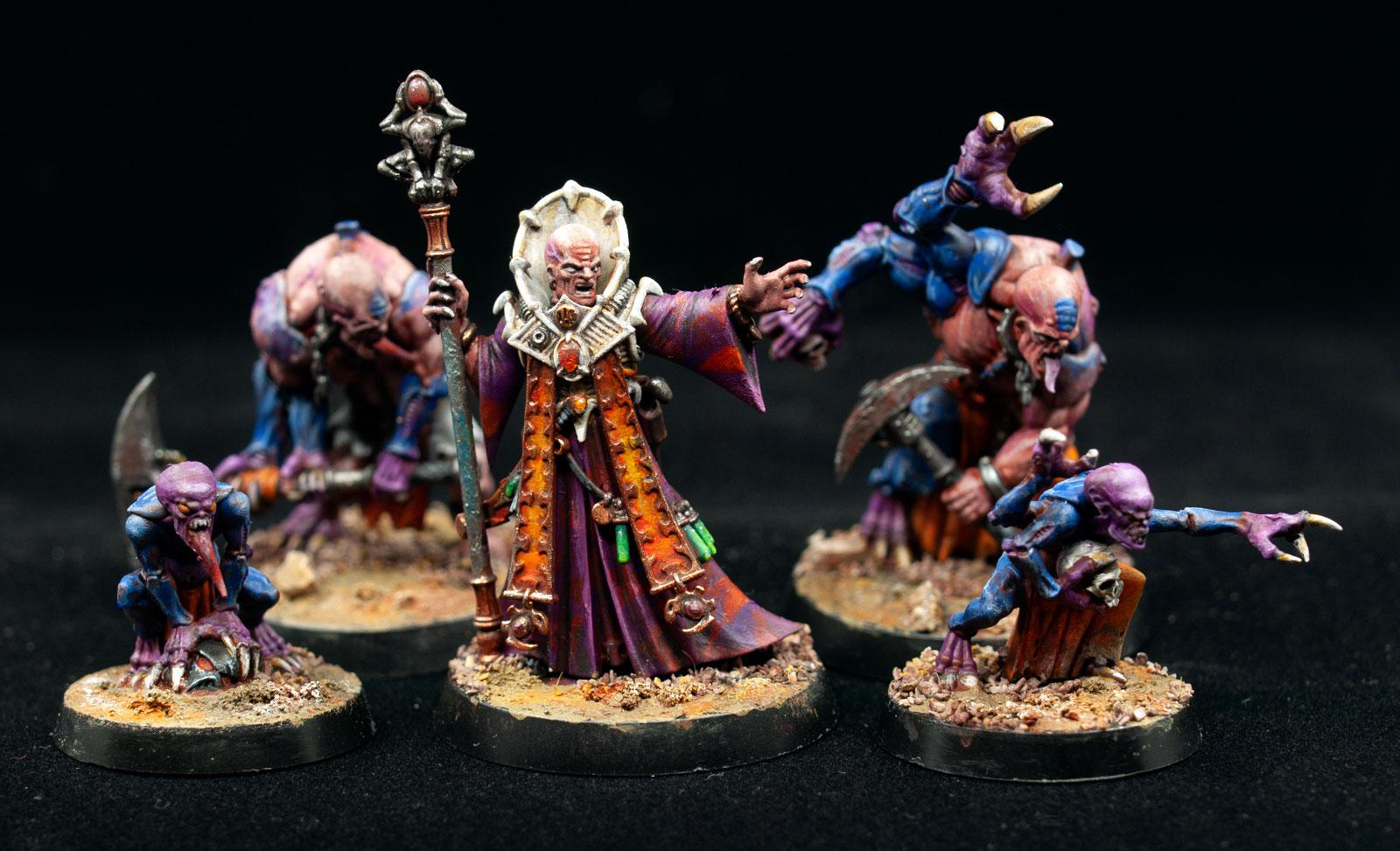 Aberrants, Familiars, Genestealer Cults, Magus, Overkill