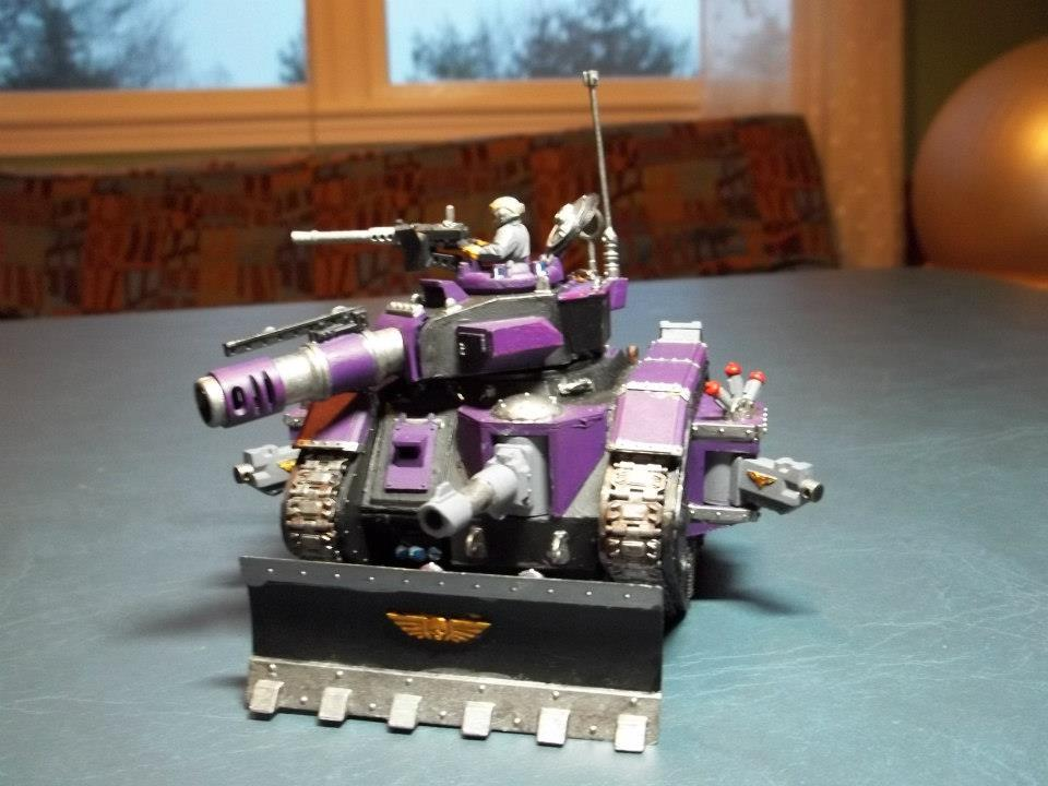 Imperial Guard, Leman Russ, Purple
