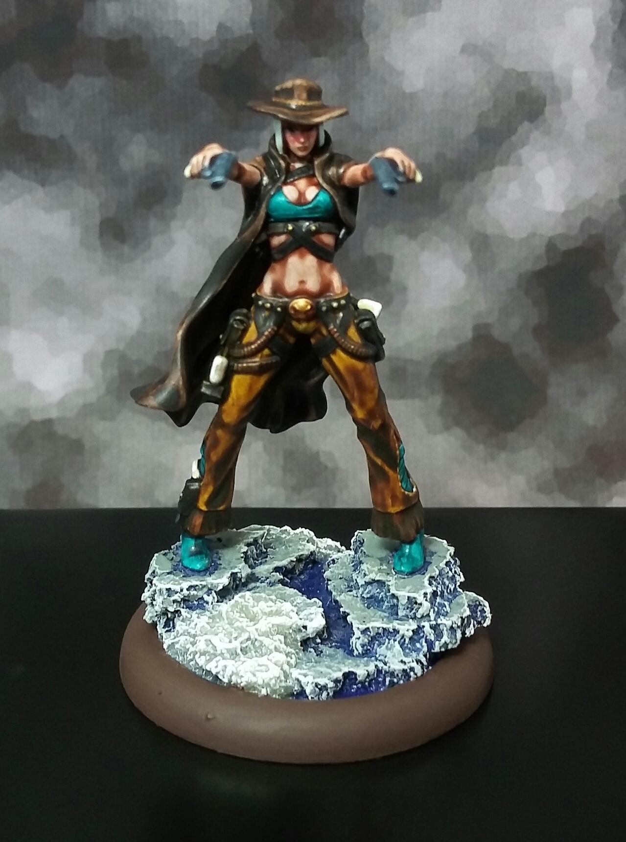 Female, Frost, Gunslinger, Malifaux