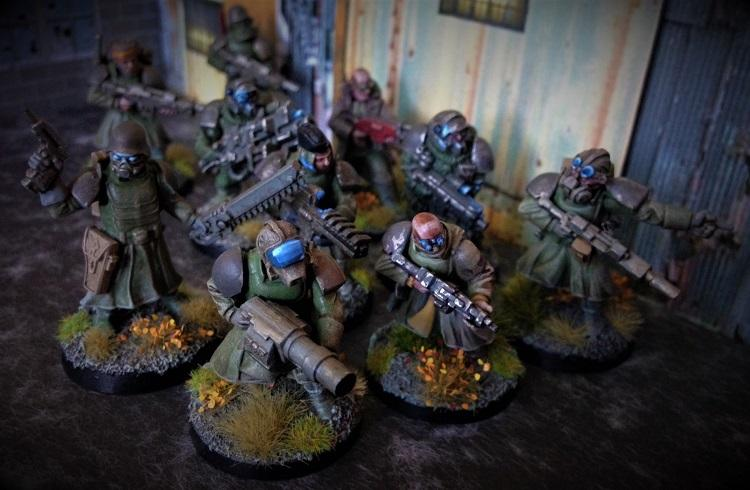 Imperial Guard, Wargames Factory