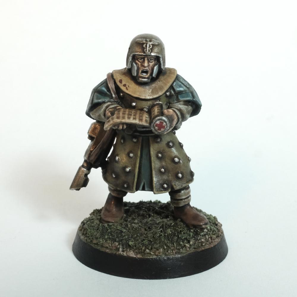 Feudal, Imperial Guard, Infantry, Medic