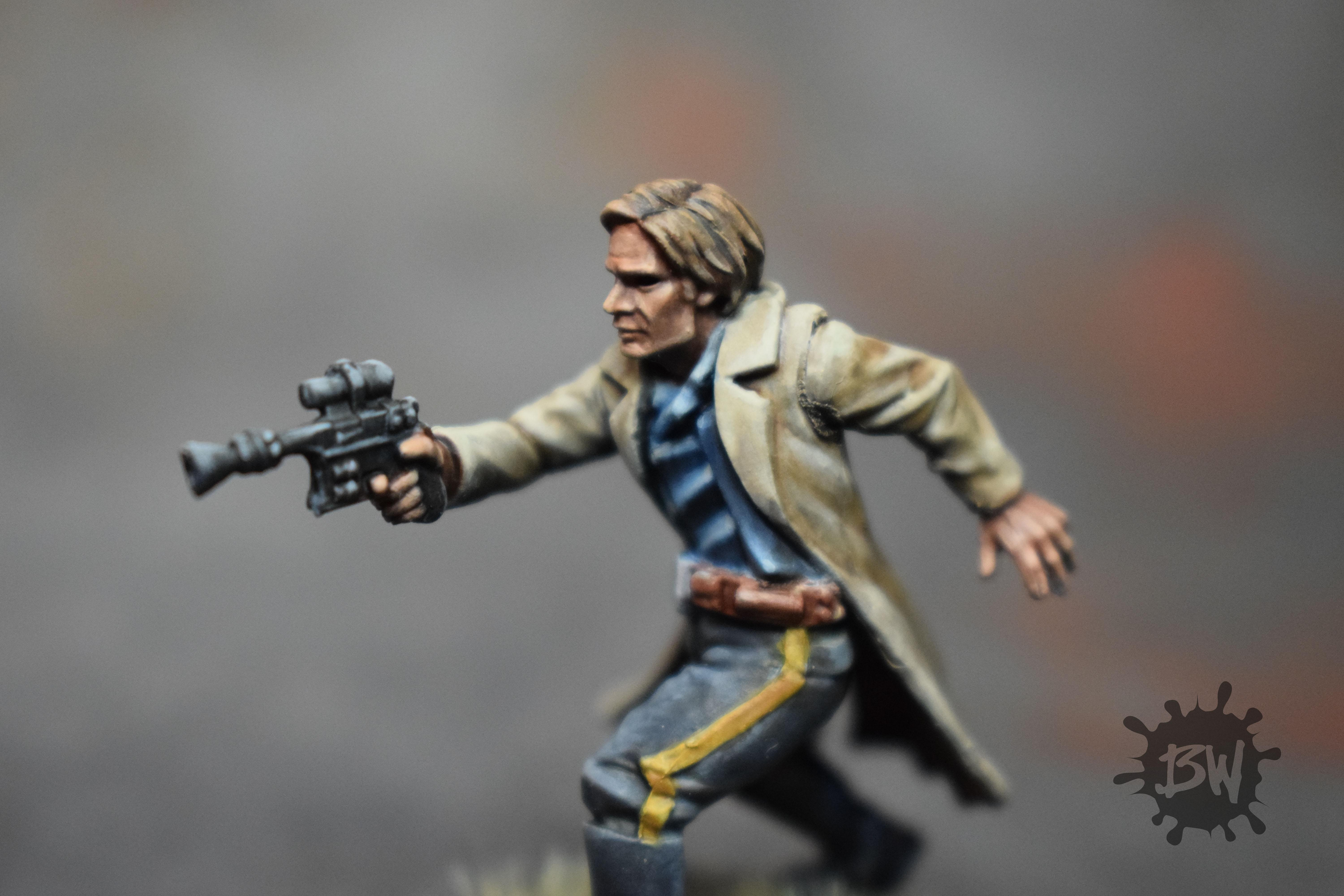 Bw, Ffg, Han Solo, Star Wars Legion