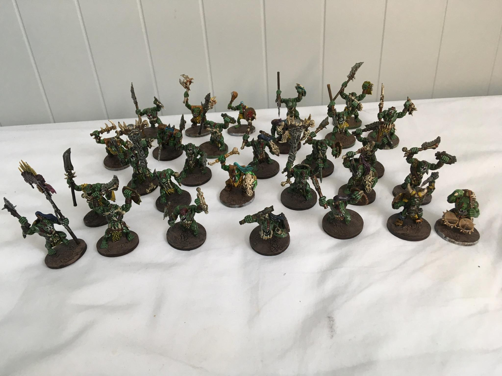 Age Of Sigmar, Barbarians, Batch Painting, Bone, Bonesplitters, Greenskinz, Order Of Destruction, Orruk, Quickshade, Savage Orc, Stone, Waaagh, Warhammer Fantasy
