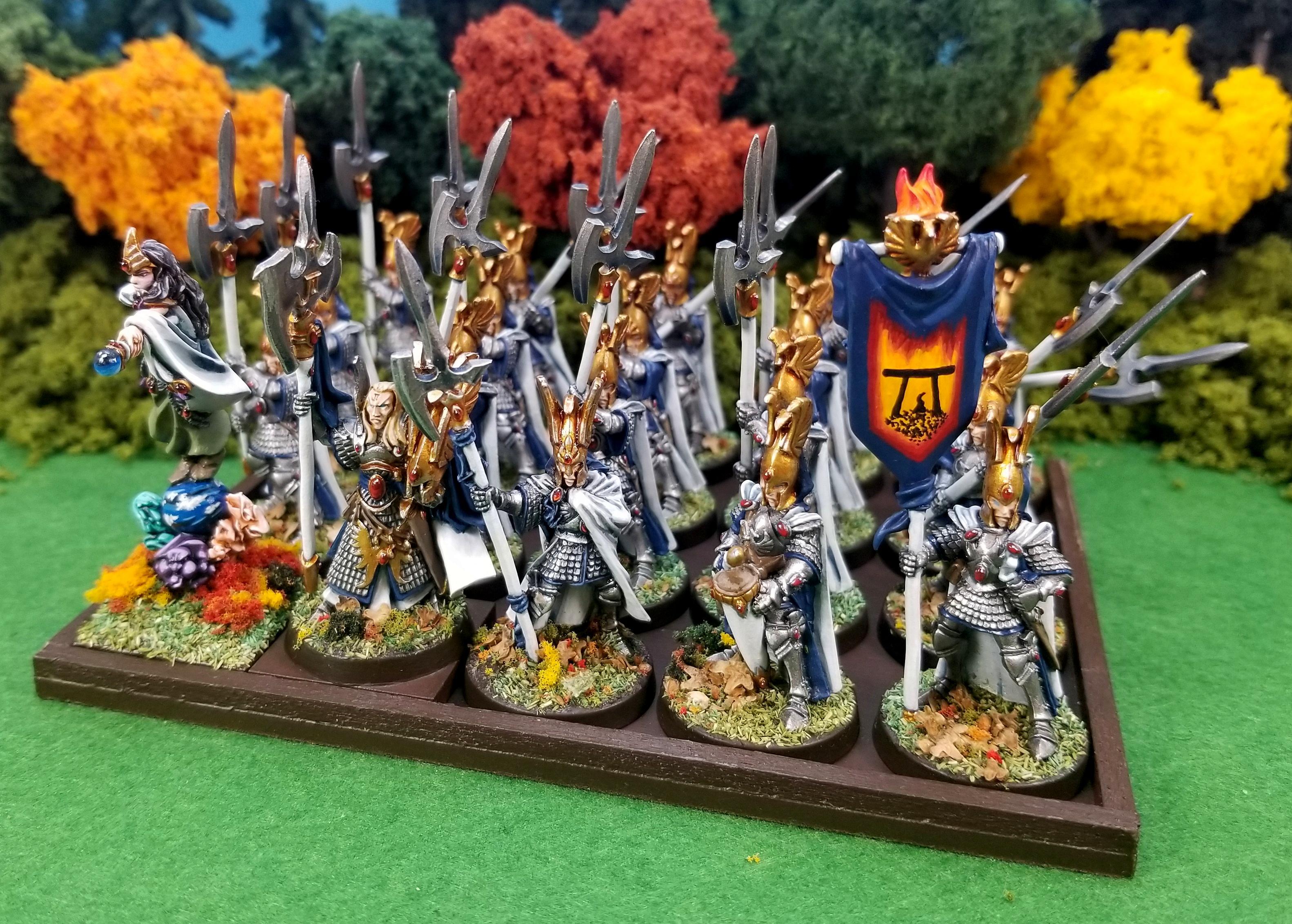 Caradryan, High Elves, Phoenix Guard, Warhammer Fantasy, Wizard